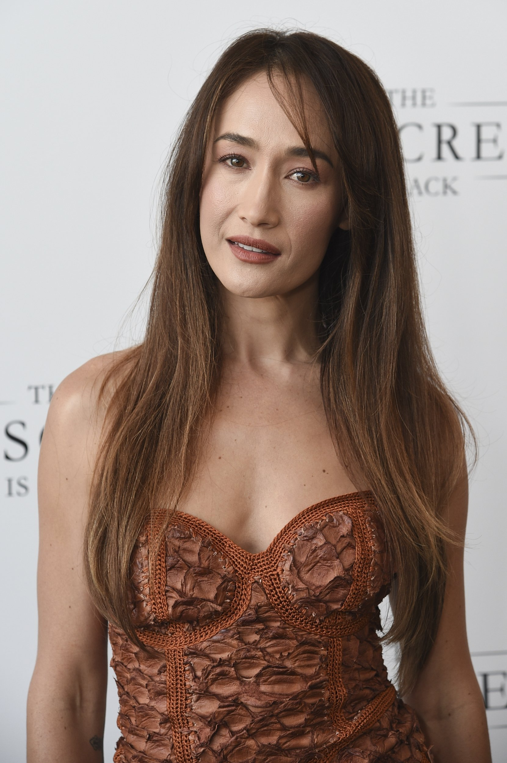 ActressMaggie Q arrives at 'The Big Screen is Back' media event that included 10 studios convening to showcase a sampling of their summer movie releases in Los Angeles, California, U.S., May 19, 2021. (AP Photo)