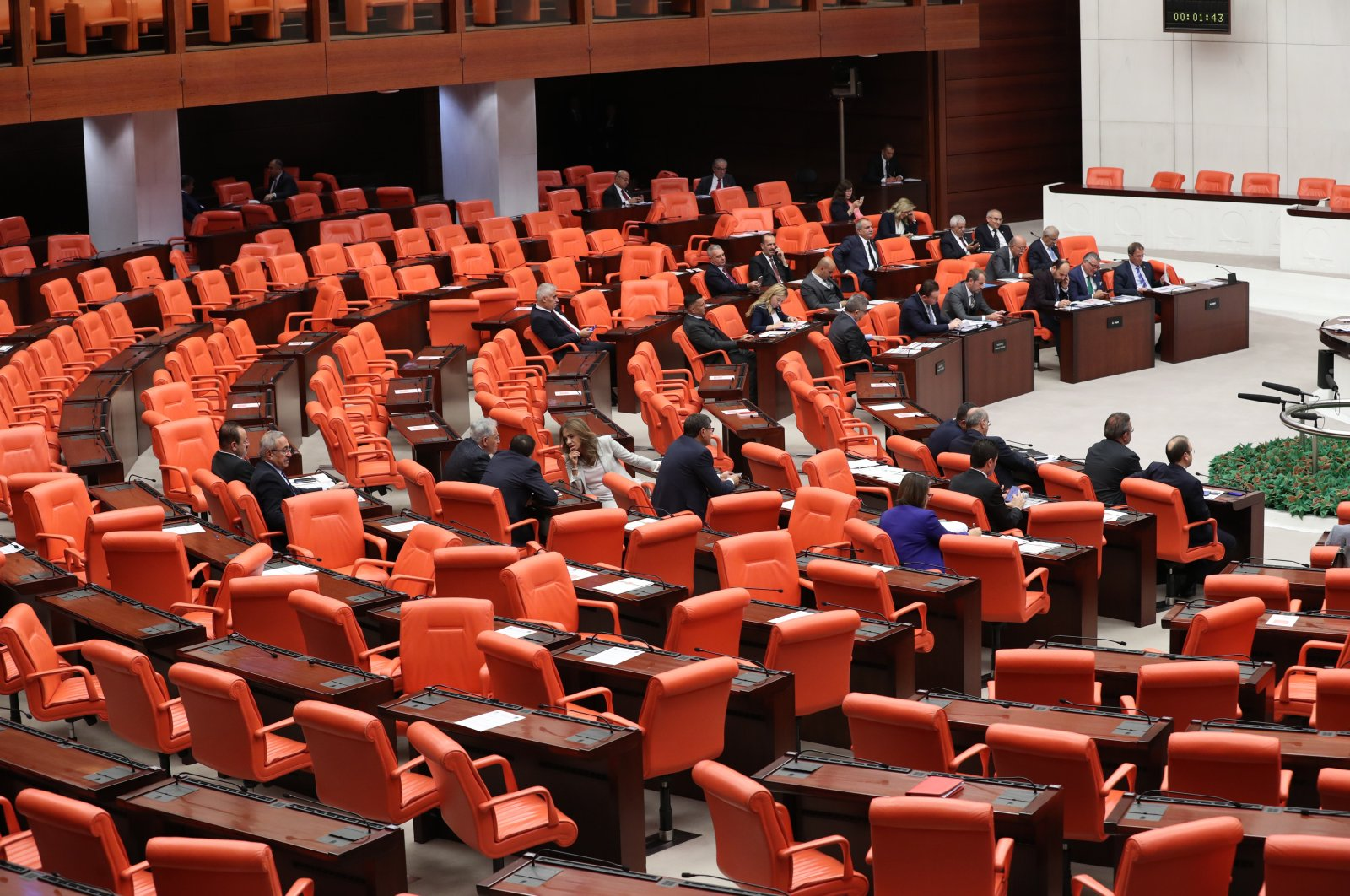 The General Assembly of the Turkish Parliament, Oct. 22, 2019. (Sabah File Photo)