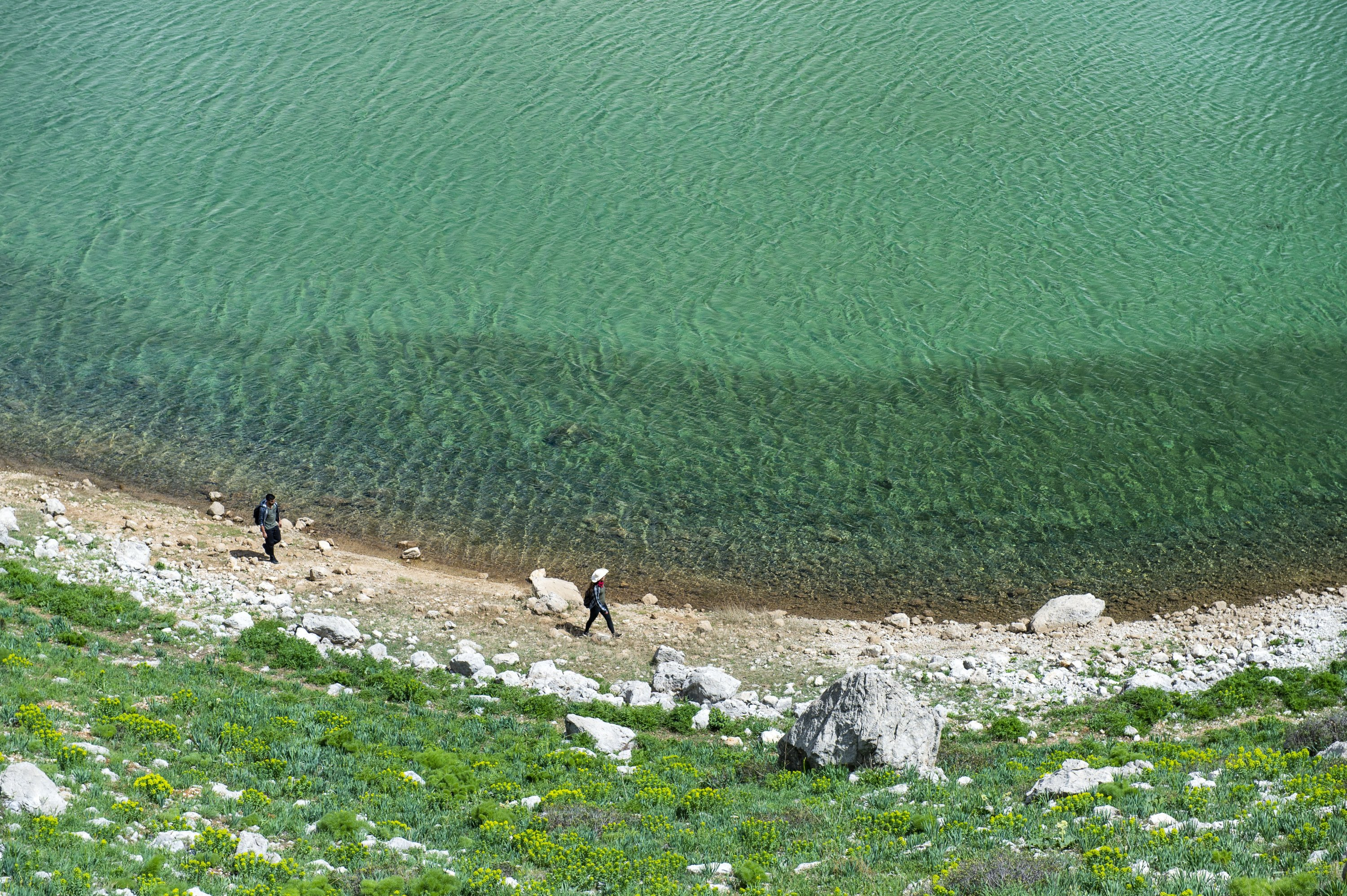 The glacial lakes formed by melting snow in the Mercan Valley in eastern Turkey are a popular destination for camping, photography and trekking enthusiasts. (AA Photo)