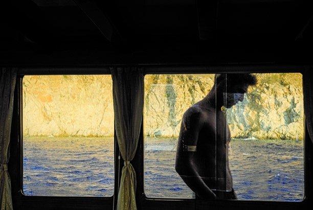 A photo from Ferrante Ferranti's 'Journey' exhibition. (Courtesy of Institut français)