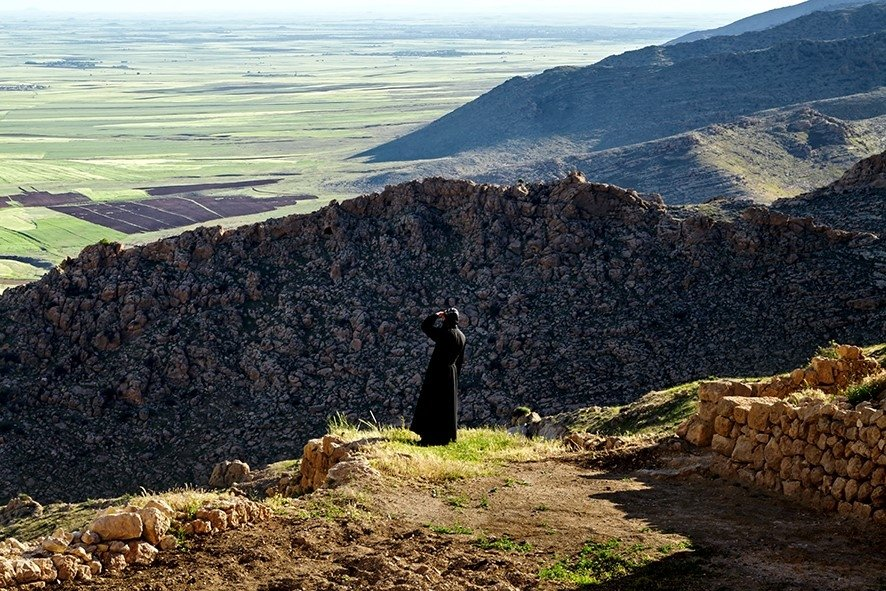"""A photo by Saima Altunkaya from her """"Tur Abdin, Mountain of Slaves"""" exhibition. (Courtesy of Institut français)"""
