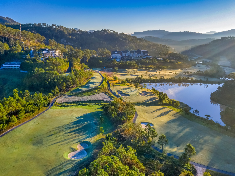 The Tuyen Lam golf course can be seen in Da Lat, Vietnam, May 1, 2020.(Shutterstock Photo)