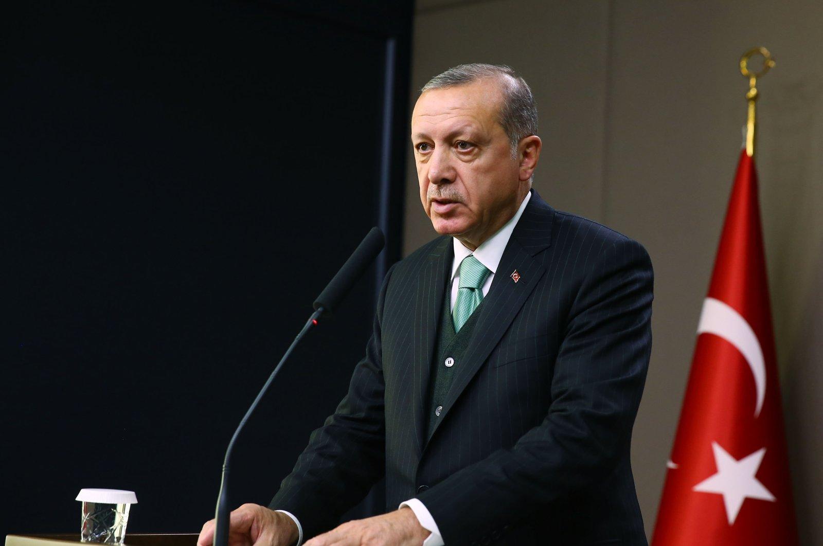 President Recep Tayyip Erdoğan (AA File Photo)