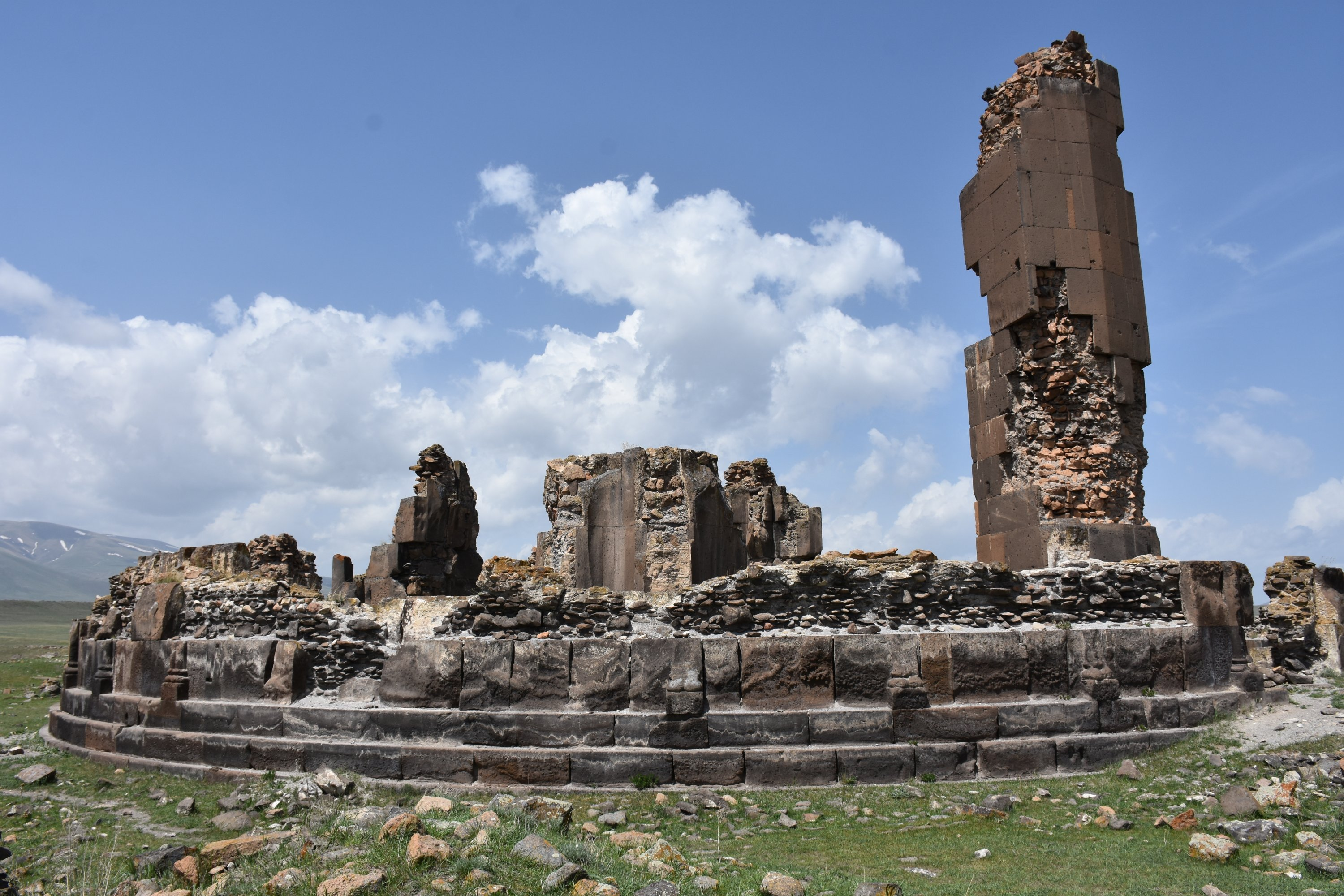 A structure from the Ani ruins, Kars, eastern Turkey, May 26, 2021. (AA Photo)
