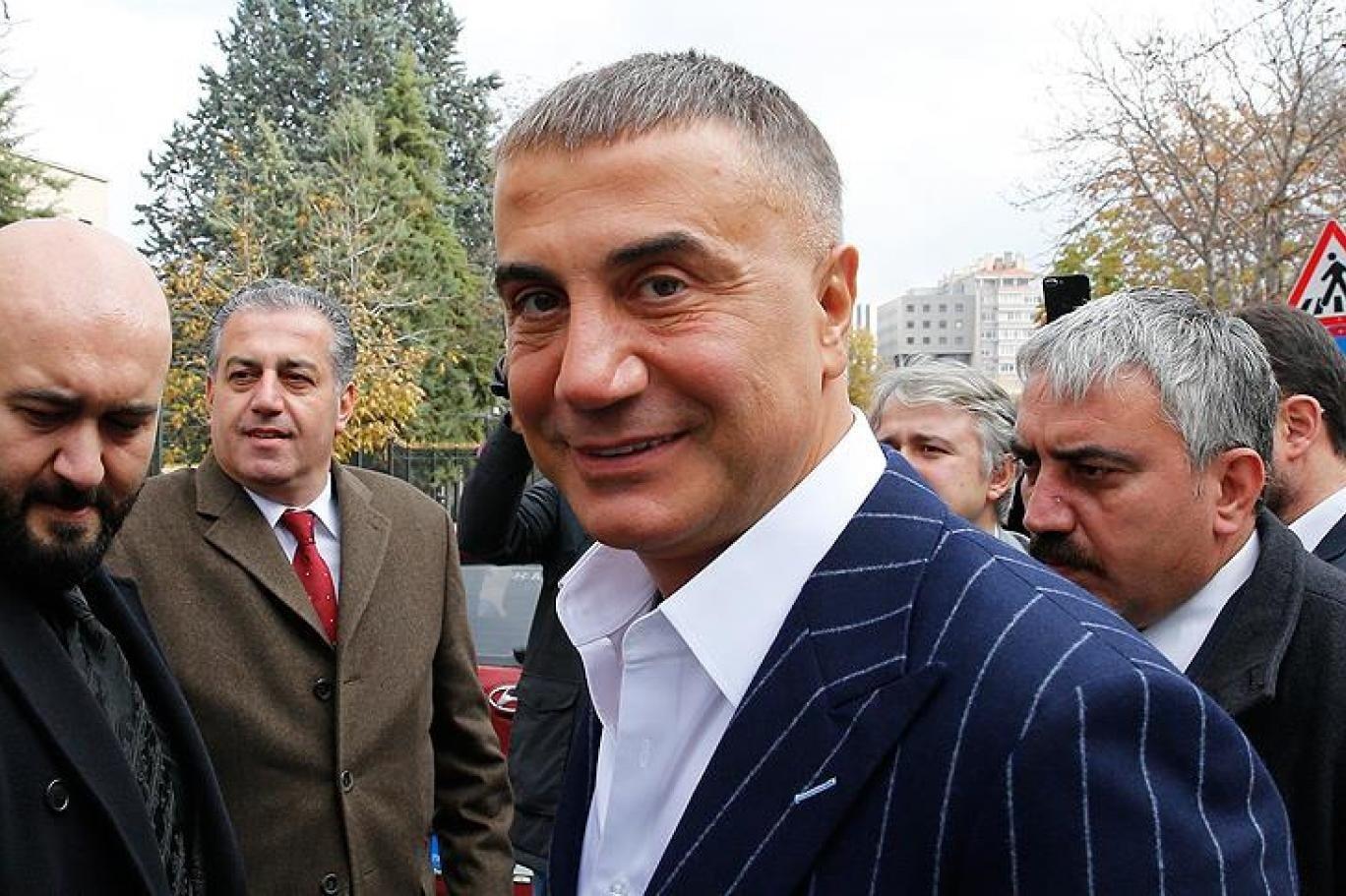 Criminal gang leader Sedat Peker.