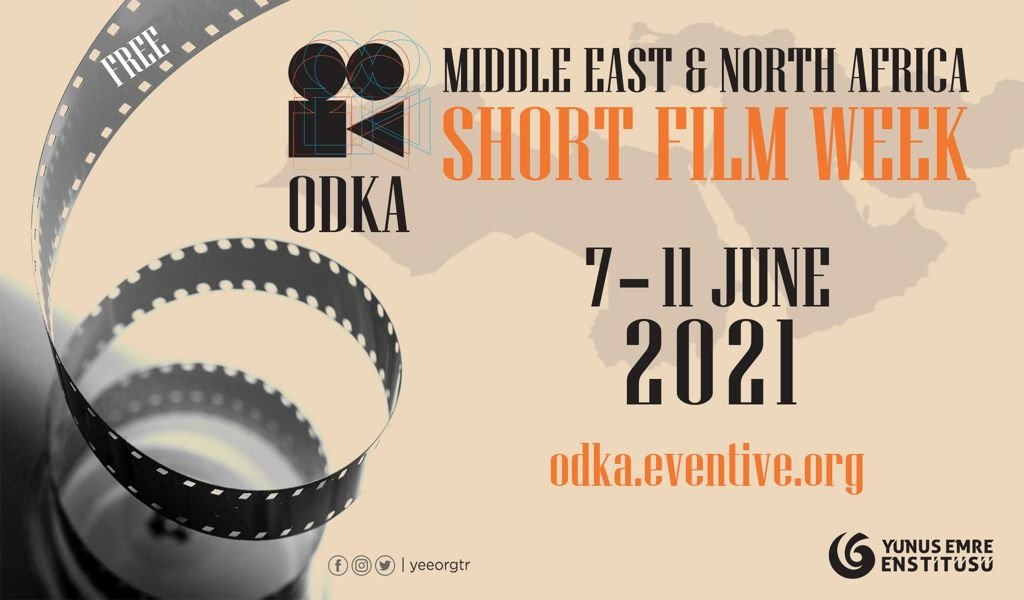 A poster of the Middle East and North Africa Short Film Week, or ODKA Short Film Week. (AA Photo)