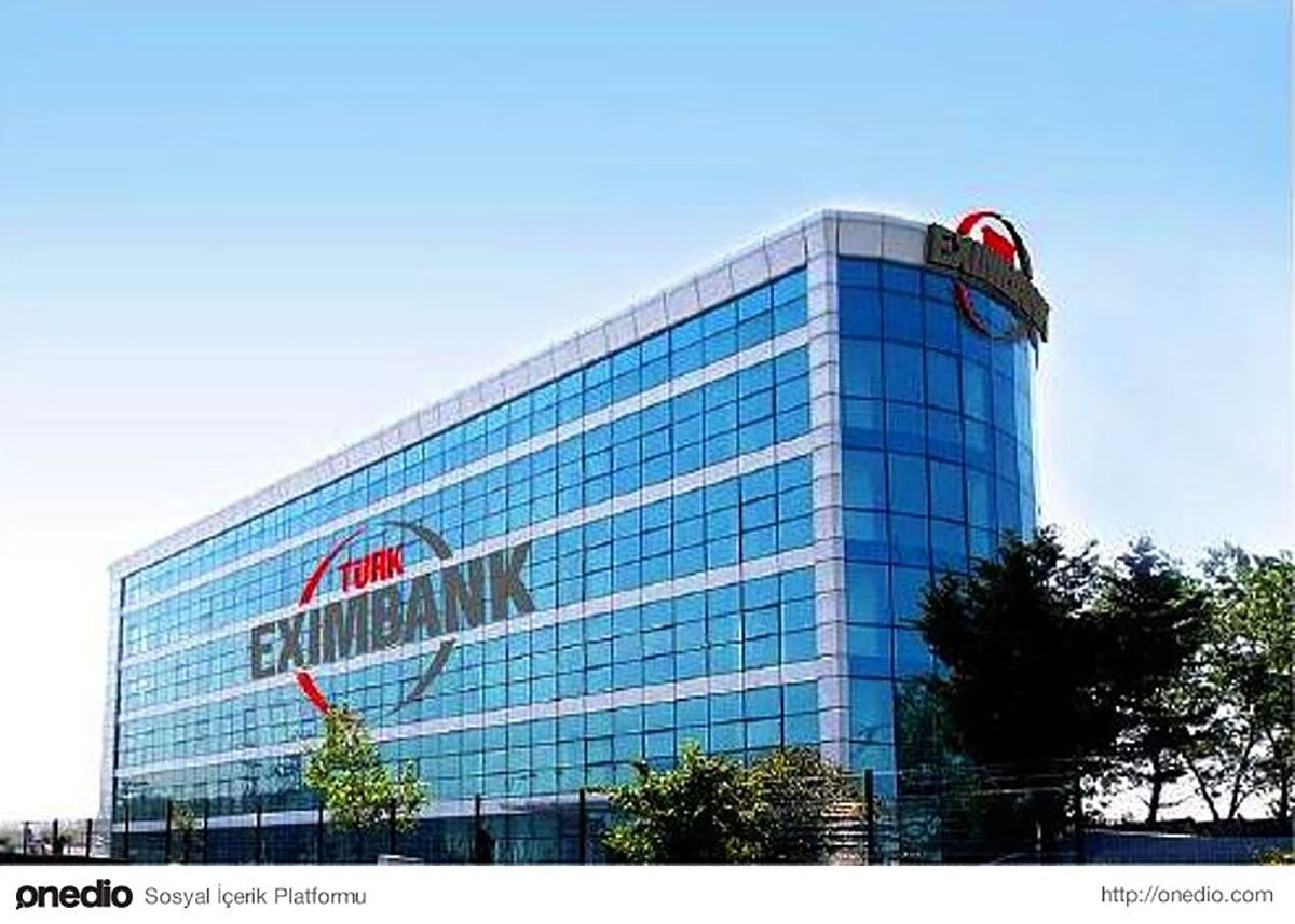 The Türk Eximbank headquarters is seen in Istanbul, Turkey. (File Photo)