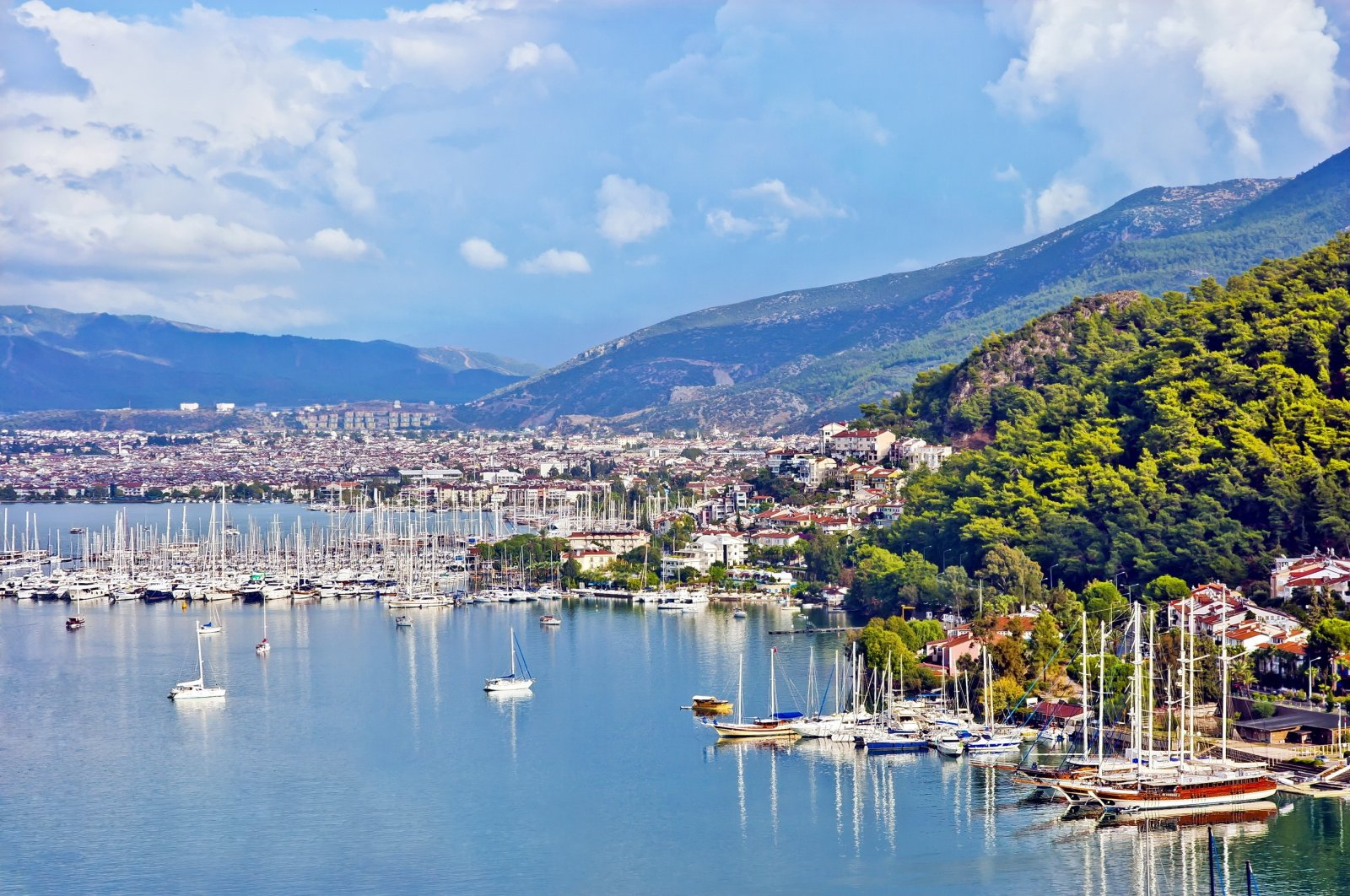 Fethiye is one of the most popular tourist destinations in Turkey. (Shutterstock Photo)