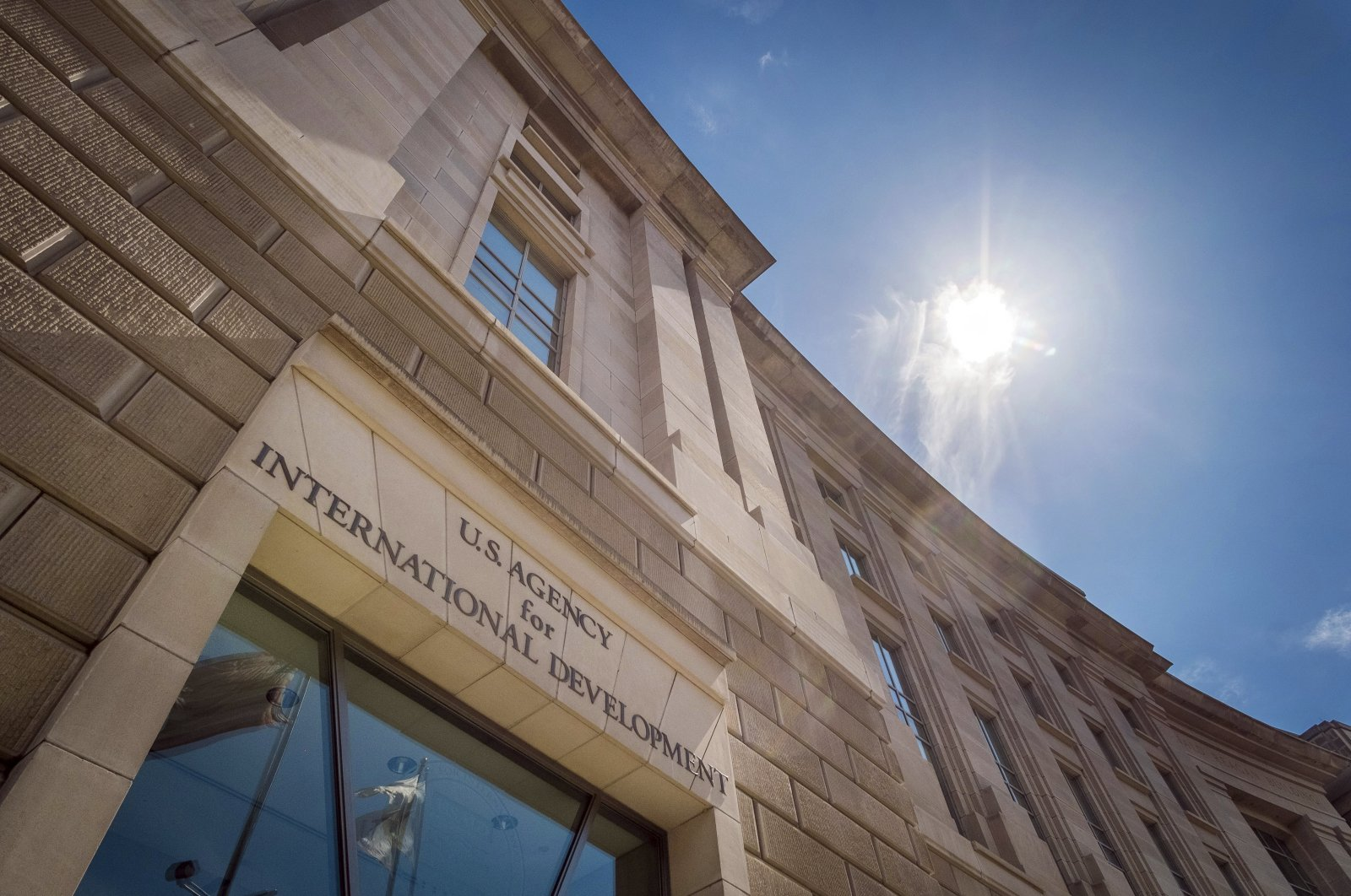 In this file photo, the headquarters for the U.S. Agency for International Development is seen in Washington, U.S., April 1, 2014. (AP Photo)