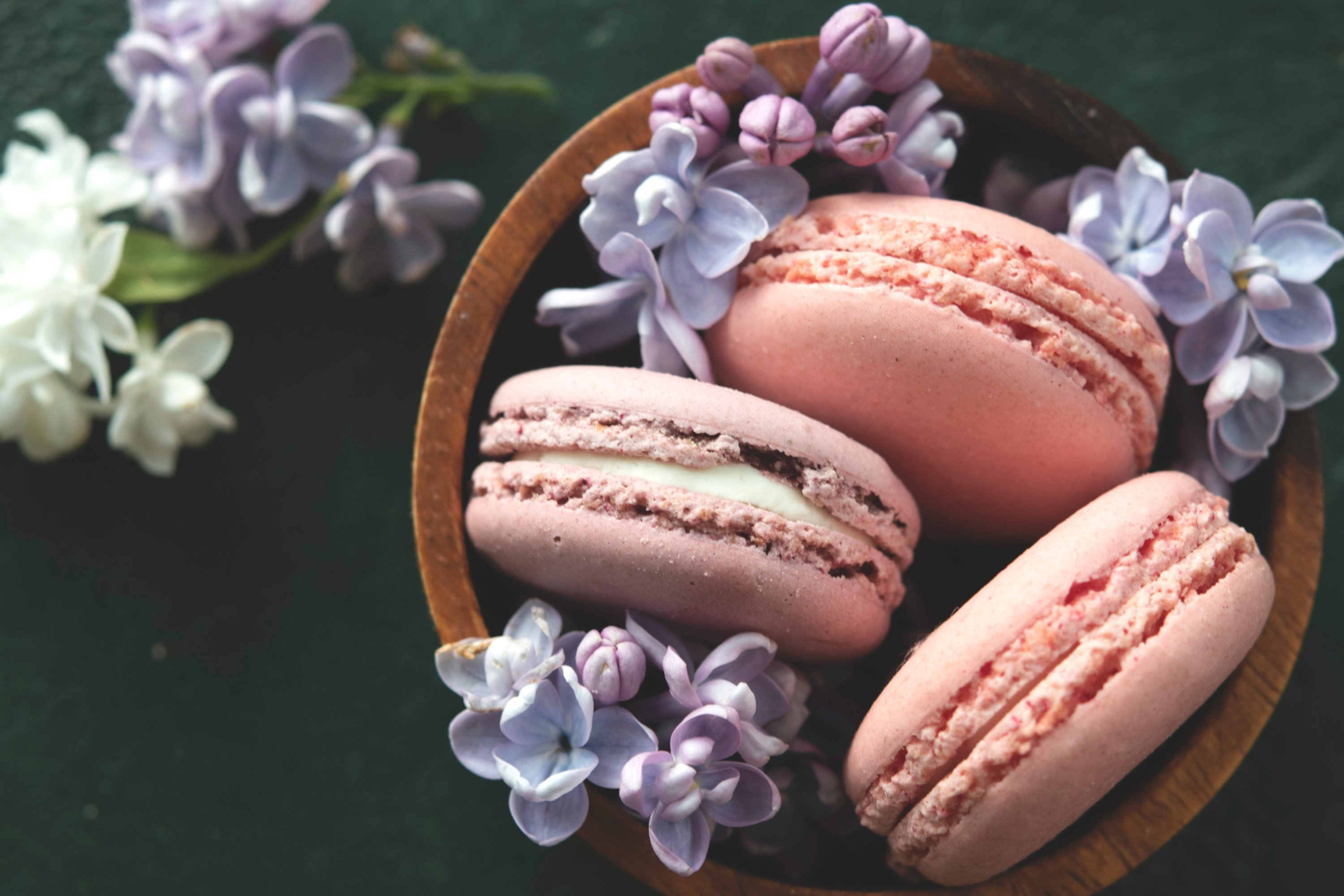 A macaron or French macaroon is a sweet meringue-based confection made with egg white, icing sugar, granulated sugar, almond meal and food coloring. (Shutterstock Photo)