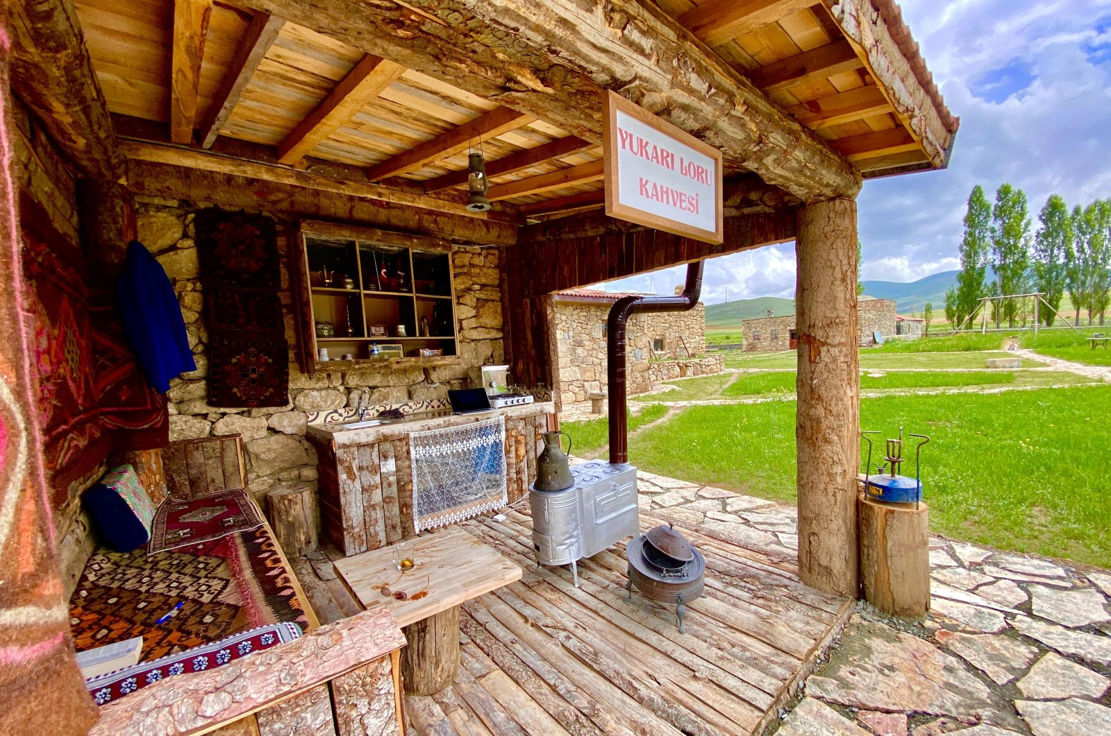 The coffee shop is one of the thematic houses in the Kenan Yavuz Ethnography Museum. (Courtesy of Kenan Yavuz Ethnography Museum )