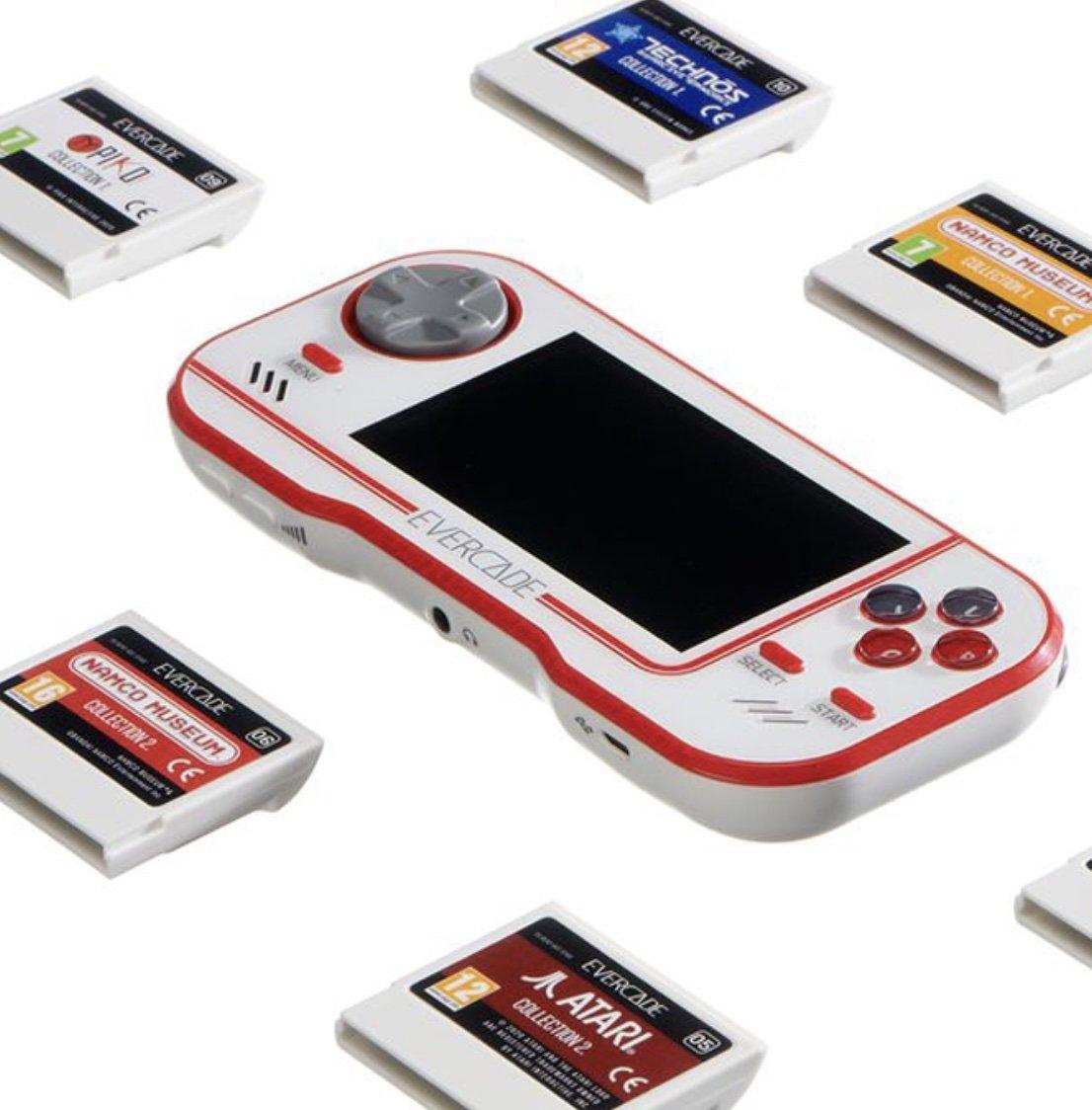 Evercade mobil cihaz.  (Blaze Entertainment'ın izniyle)