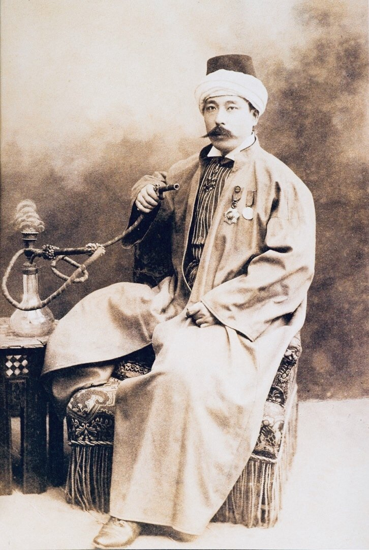 Yamada Torajiro during his stay in Istanbul from 1892 to 1914.