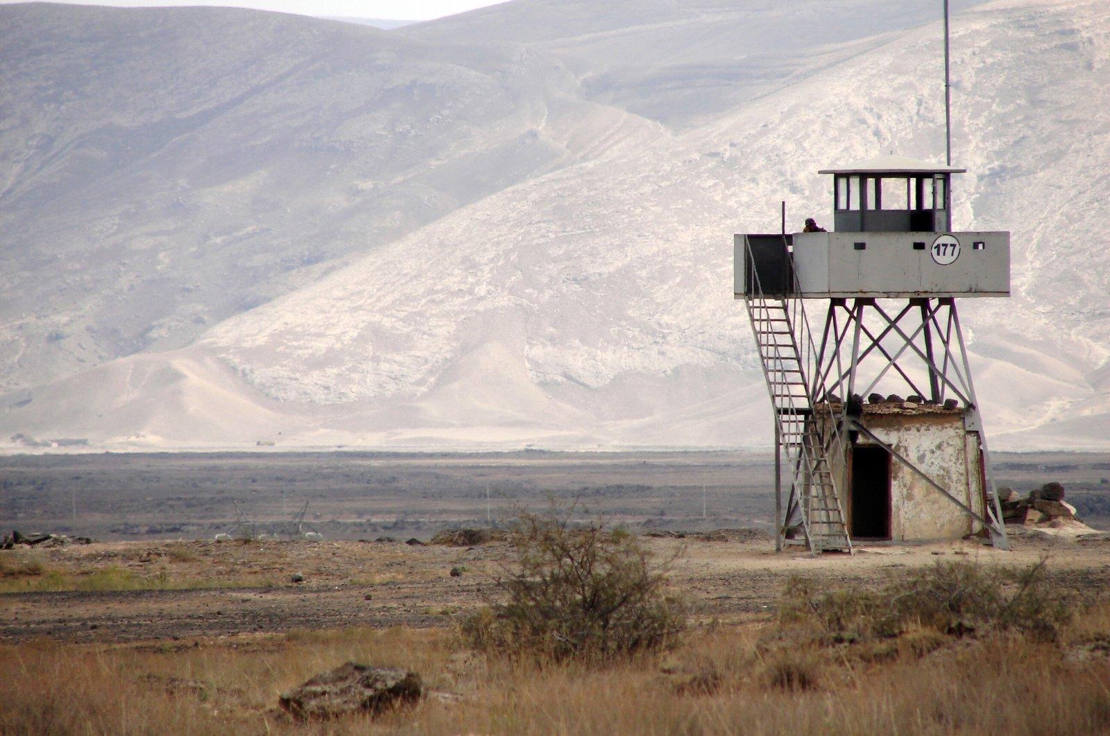 Watchtower near the Iranian border in eastern Turkey. (Shutterstock File Photo)