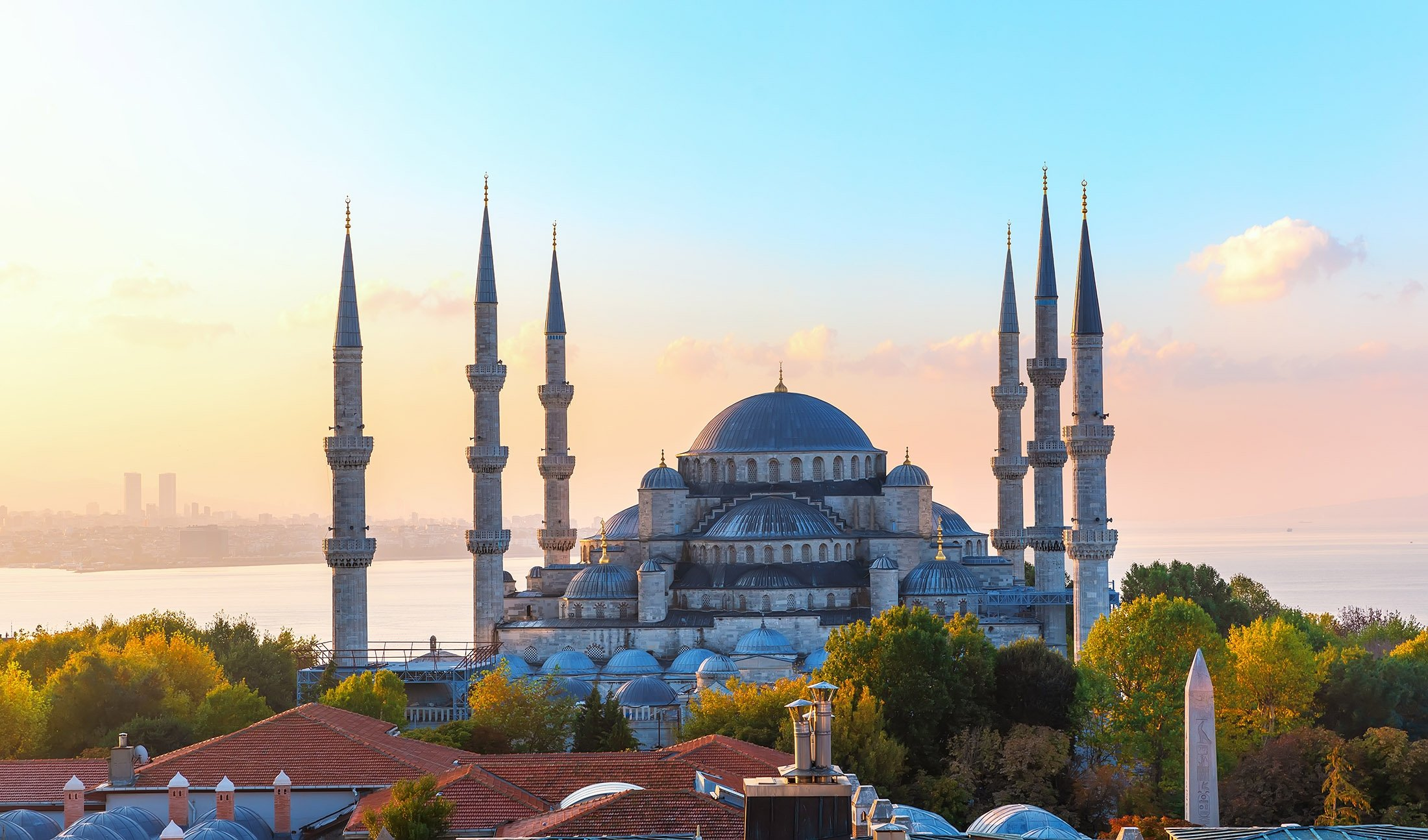 The Blue Mosque, also known as Sultan Ahmet Mosque, in Turkey's Istanbul. (Shutterstock Photo)