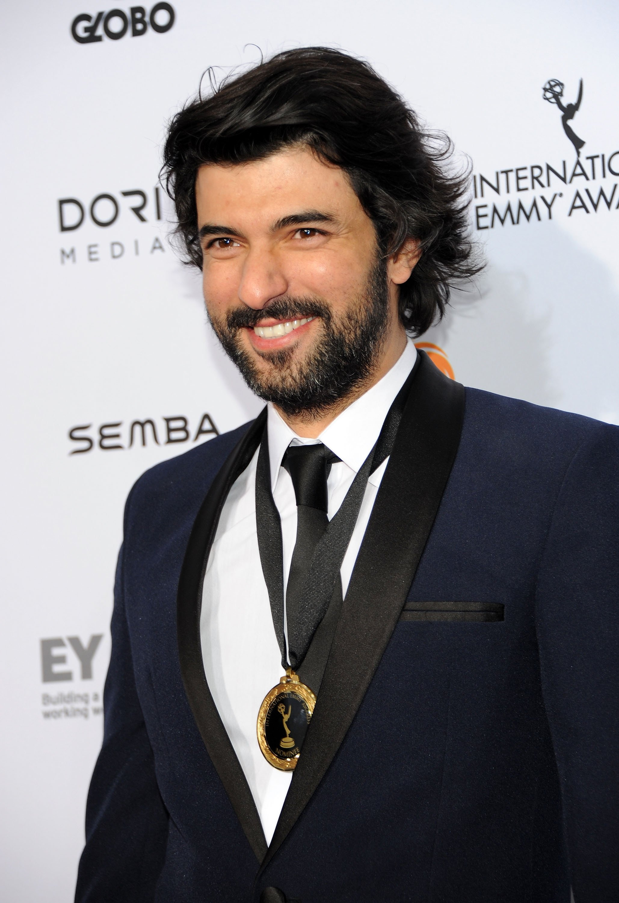 Best actor nominee Engin Akyürek attends the 43rd International Emmy Awards on November 23, 2015, in New York City.  (Getty Images)