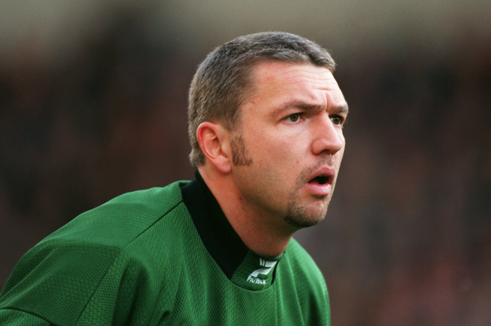 West Bromwich Albion goalkeeper Alan Miller is seen during a League One football match between West Bromwich Albion and Wolverhampton Wanderers at The Hawthorns, in West Bromwich, England, Nov. 29, 1998. (PA via Reuters)