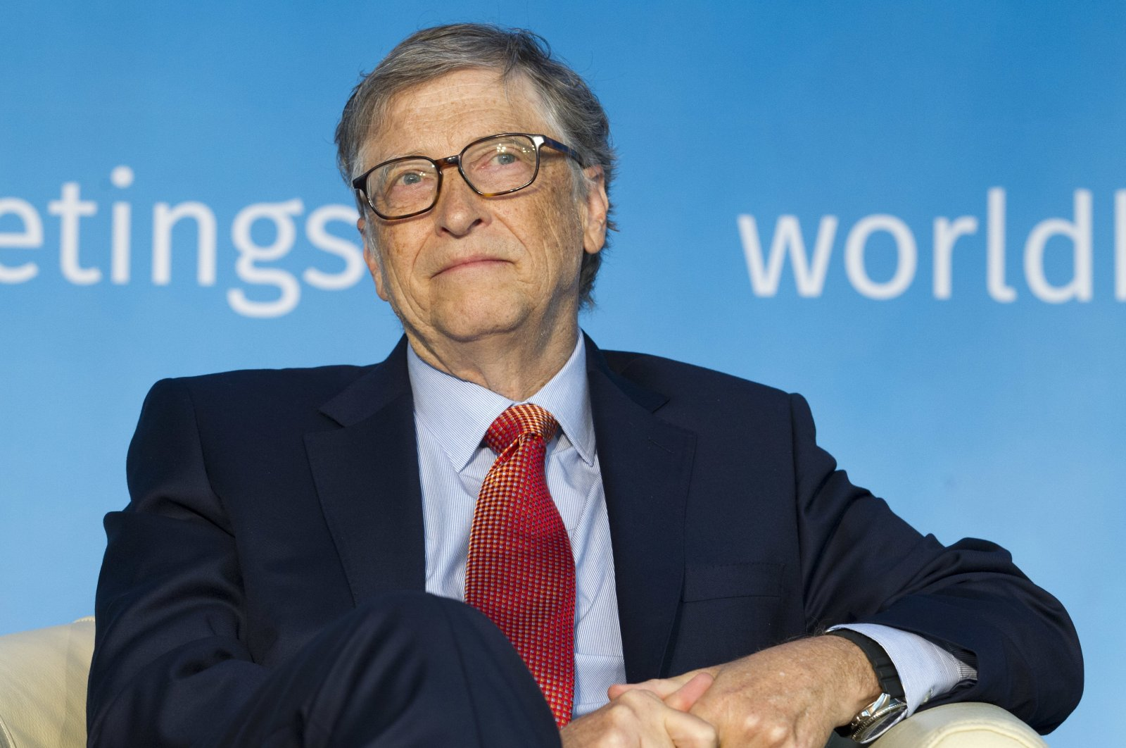 Co-chair of the Bill & Melinda Gates Foundation, Bill Gates speaks at the Building Human Capital panel in Washington, D.C., U.S., April 21, 2018. (AP Photo)