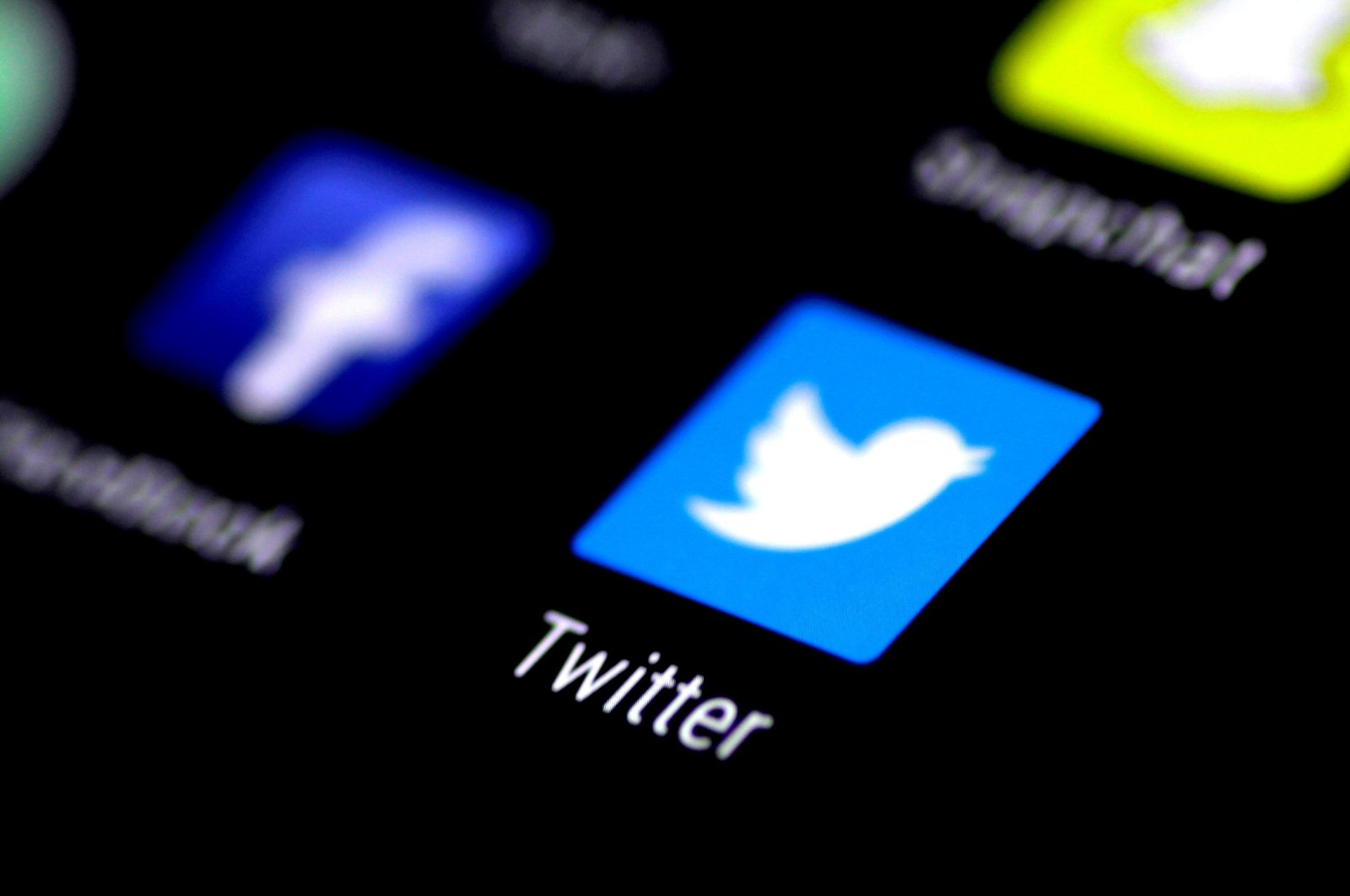 The Twitter application is seen on a phone screen, Aug. 3, 2017. (Reuters File Photo)