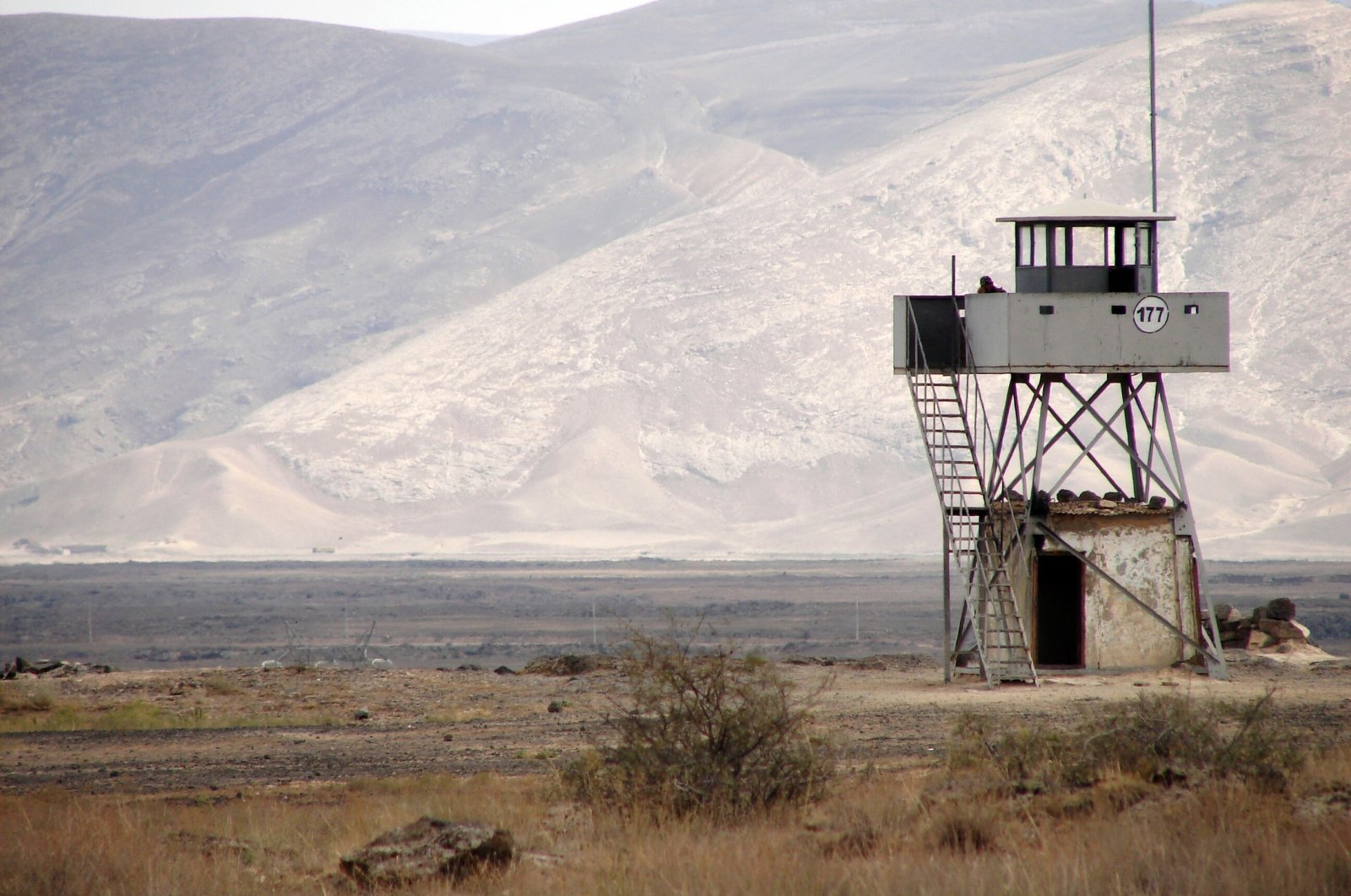 Watchtower near the Iranian border, eastern Turkey in this undated file photo. (Shutterstock Photo)