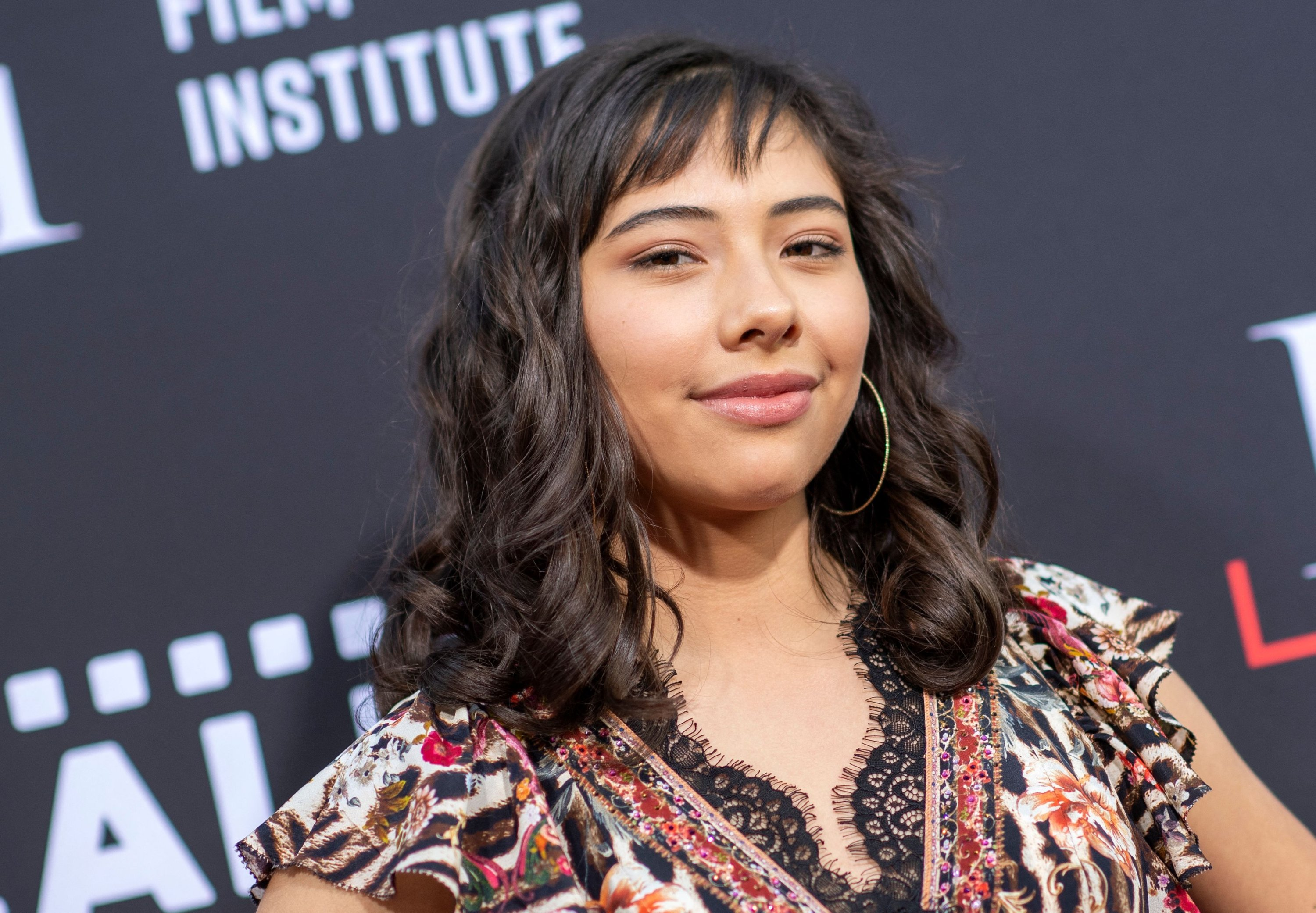 Actress Xochitl Gomez attendsthe Los Angeles Latino International Film Festival (LALIFF) special preview screening of 'In The Heights' at the TCL Chinese Theater in Hollywood, California, U.S., June 4, 2021. (AFP Photo)