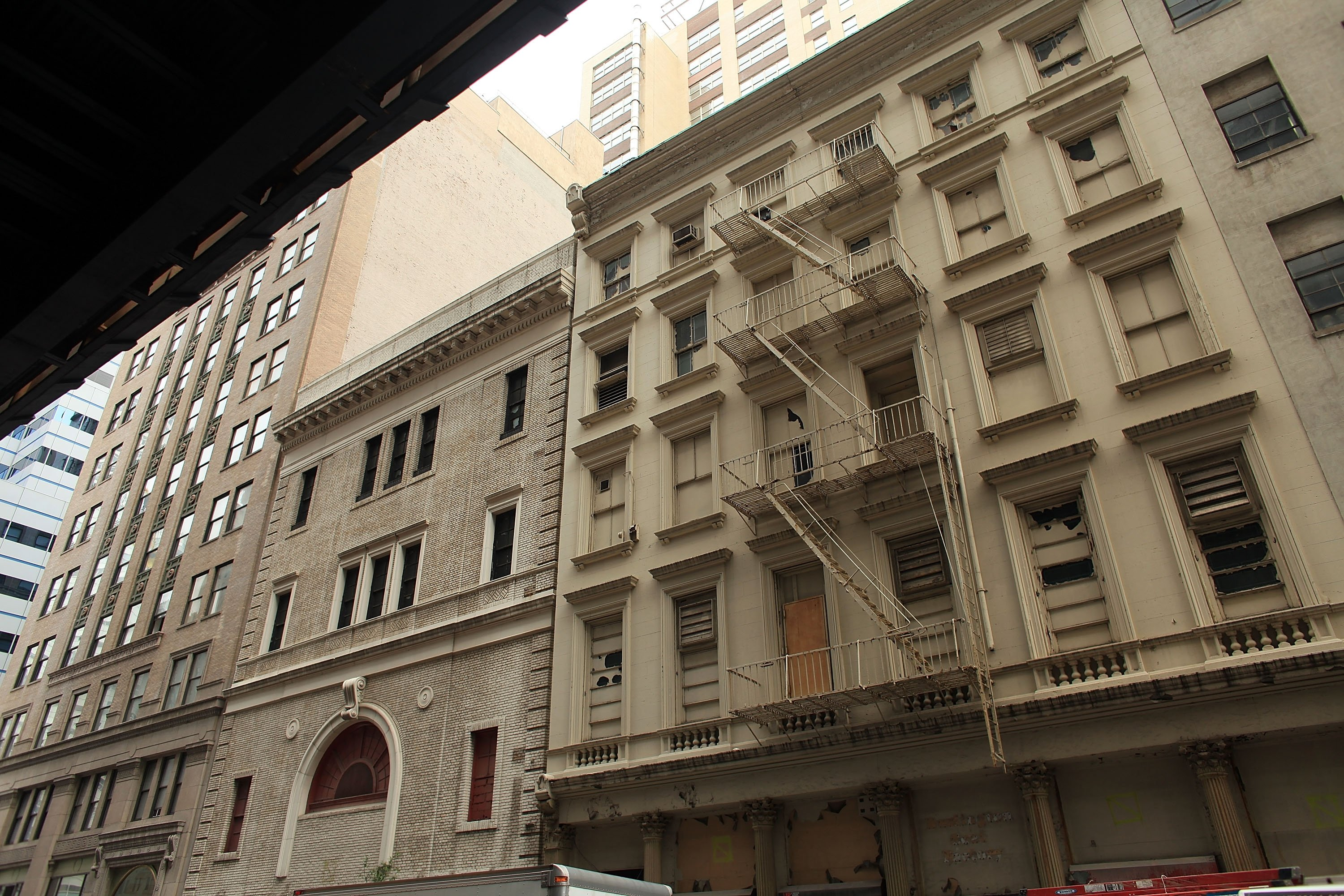 The building poised to house the Cordoba Initiative Mosque and Cultural Center, in New York City, New York, U.S., Aug. 16, 2010. (Photo by Getty Images)