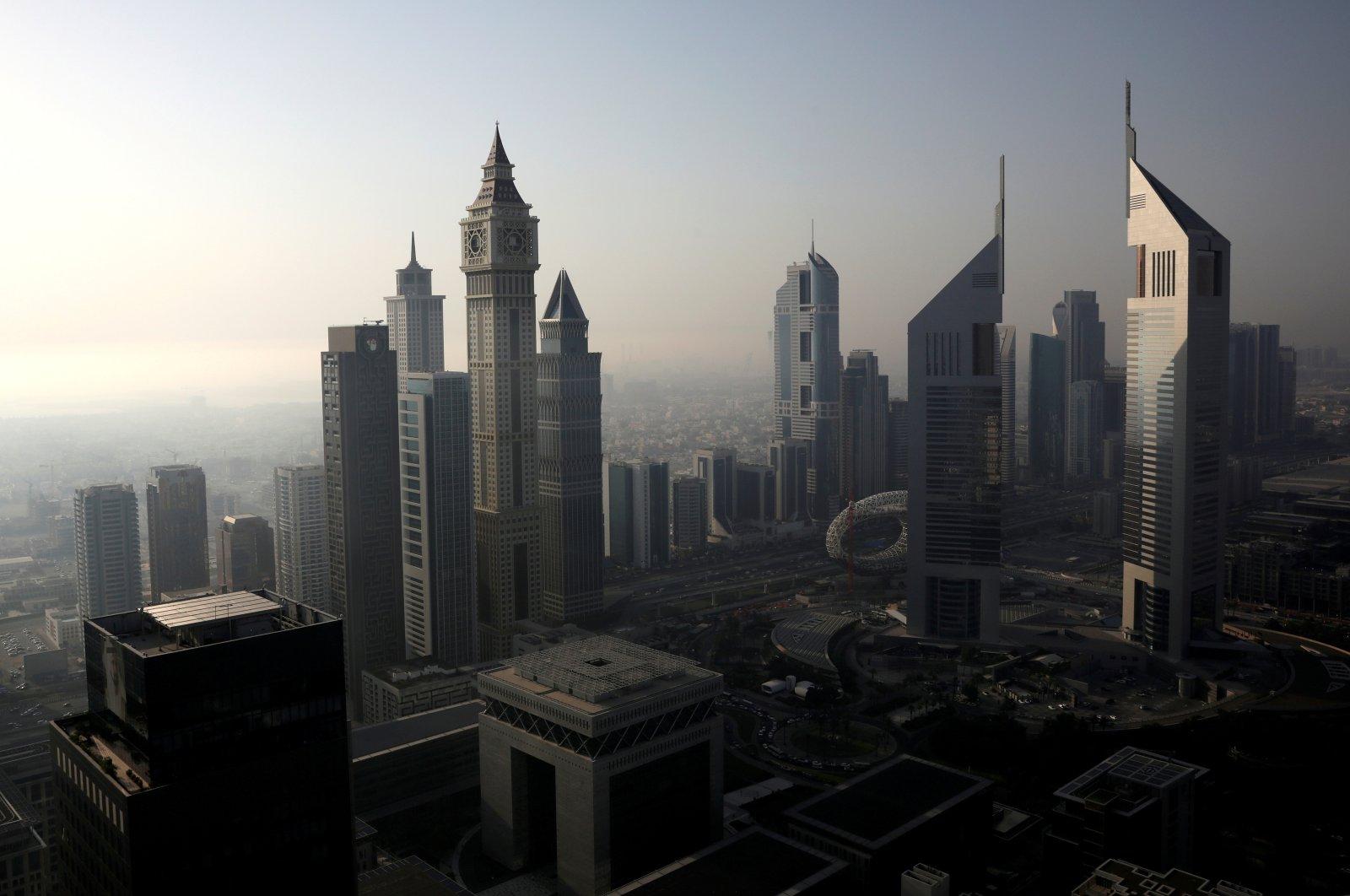 A general view of Dubai International Financial Centre (DIFC) among high-rise towers in Dubai, United Arab Emirates June 18, 2019. (REUTERS Photo)