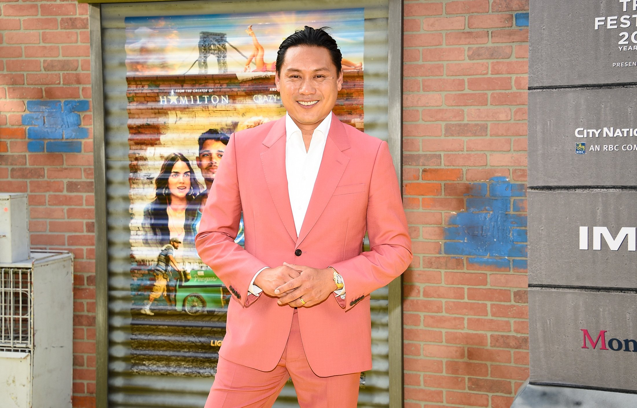 Director Jon M. Chu attends the 2021 Tribeca Festival opening night premiere of 'In The Heights' at the United Palace theater in New York, U.S., June 9, 2021. (AP Photo)