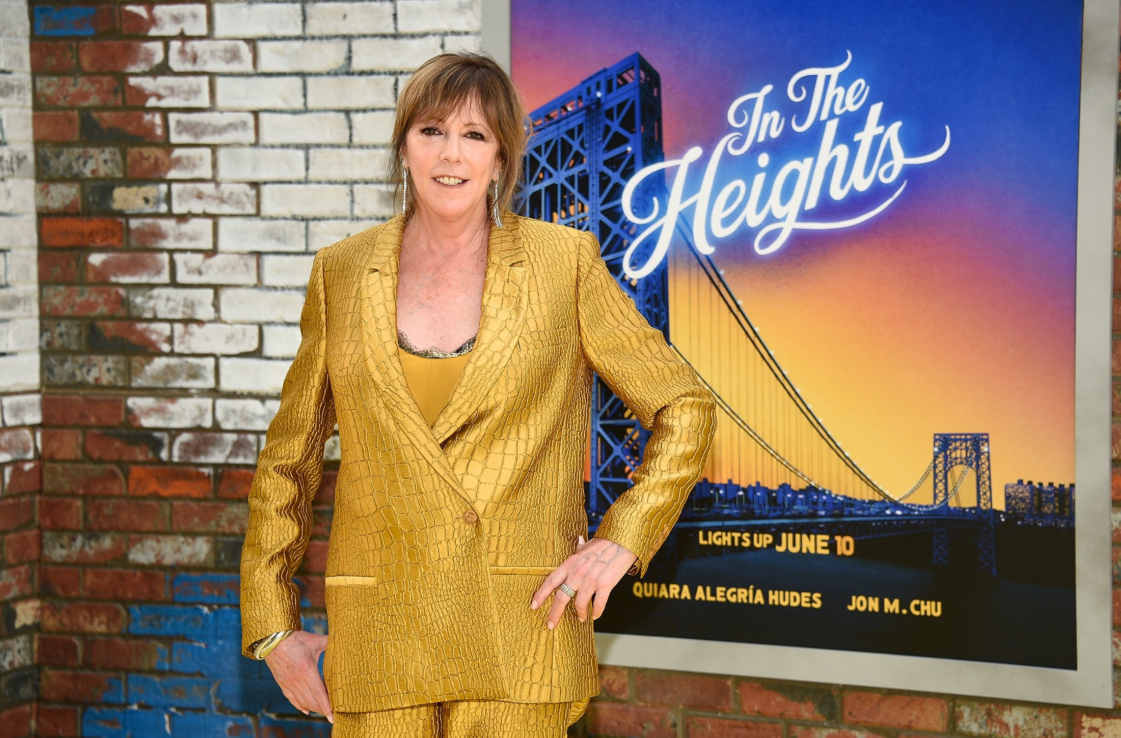 Tribeca Film Festival co-founder Jane Rosenthal attends the 2021 Tribeca Festival opening night premiere of 'In The Heights' at the United Palace theater in New York, U.S., June 9, 2021. (AP Photo)