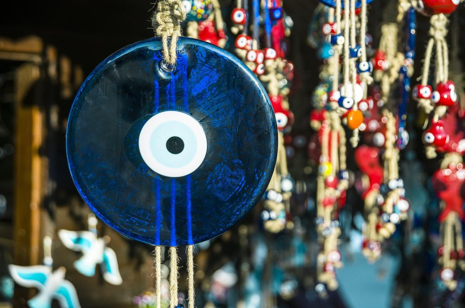 A popular evil eye talisman in Turkey. (Shutterstock Photo)