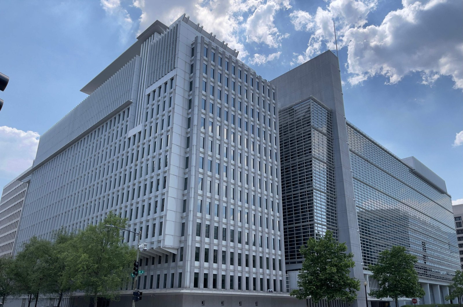 World Bank headquarters seen in Washington, D.C., U.S., on May 20, 2021. (AFP Photo)