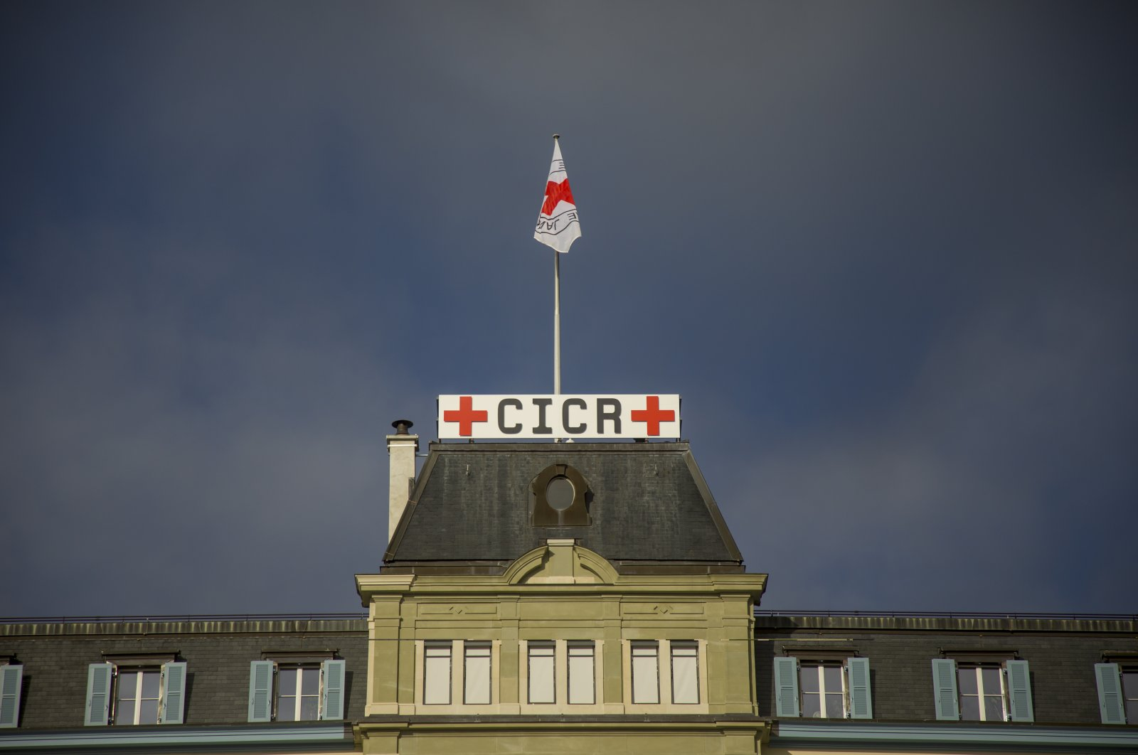 The headquarters of the International Committee of the Red Cross (ICRC), in Geneva, Switzerland, Dec. 31, 2018. (Getty Images)