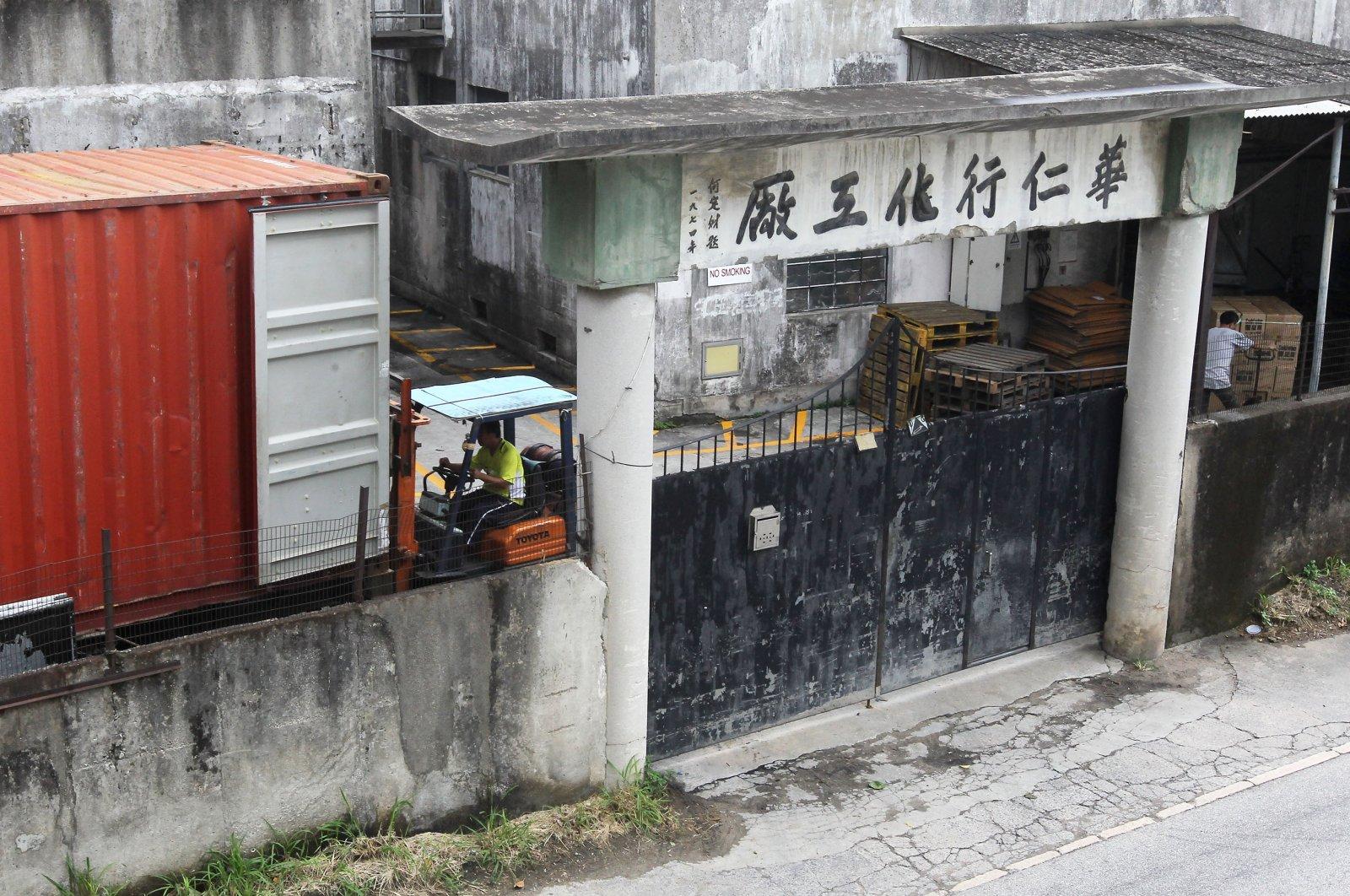 Wah Yan Hong Chemical Factory is located in Kwu Tong, Hong Kong, China, Aug. 2, 2013. (Getty Images)