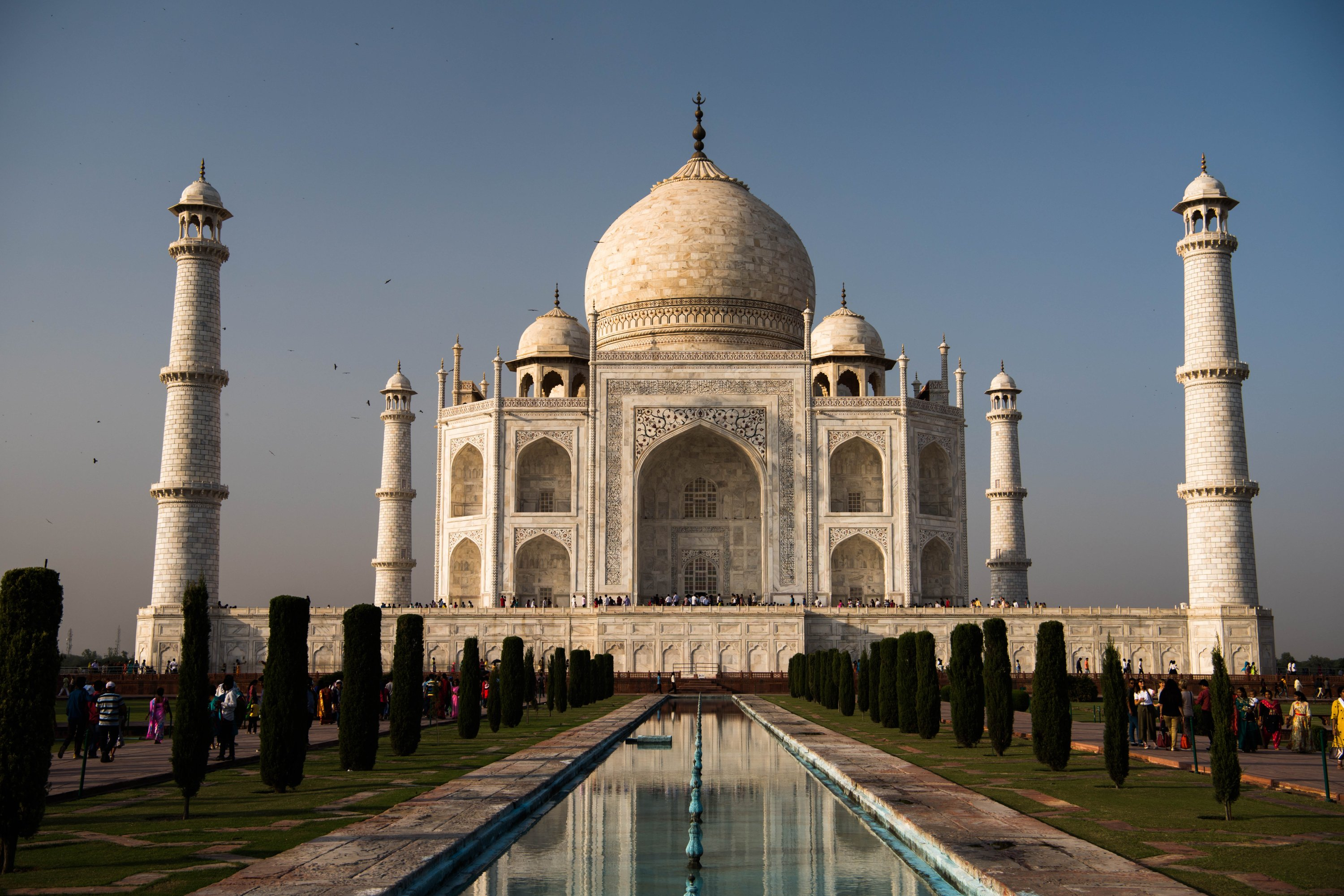 The Taj Mahal is one of the seven wonders of the world. (Shutterstock Photo)
