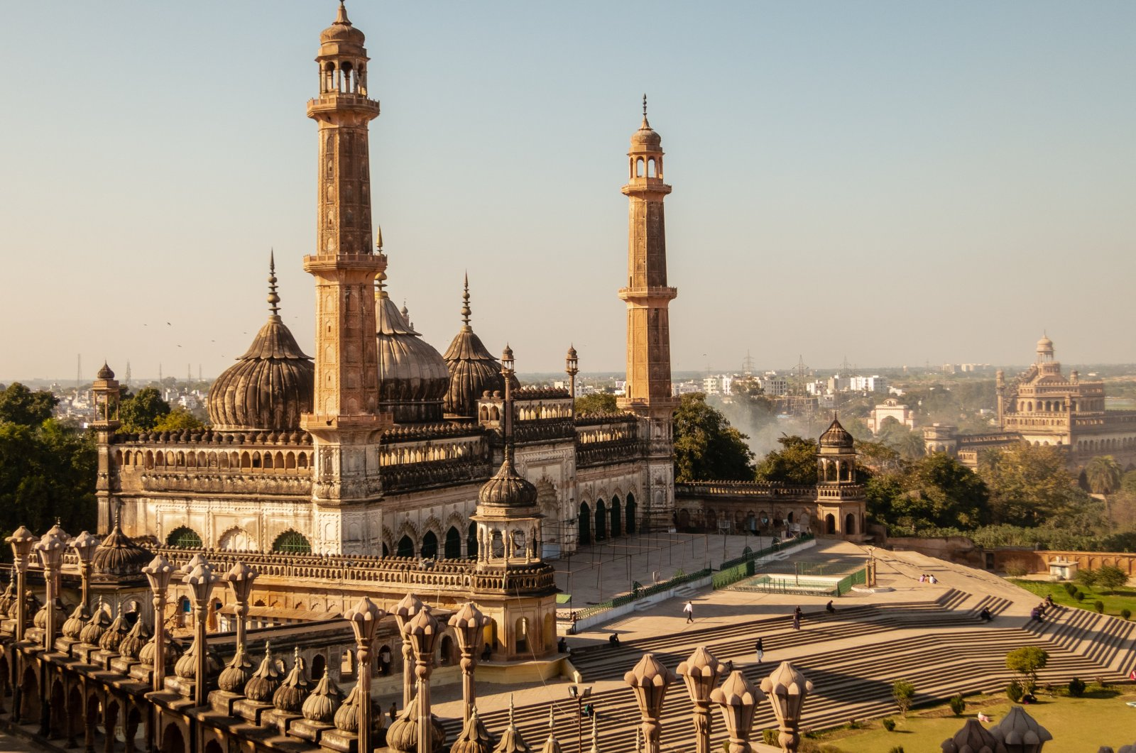 The Bara Imambara of Lucknow is the largest historical monument of Indo-Islamic architecture. (Shutterstock Photo)