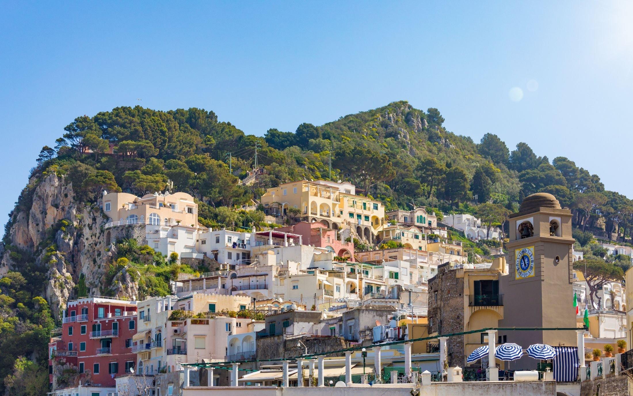 The city landscape of the island of Capri, Italy. (Shutterstock Photo)