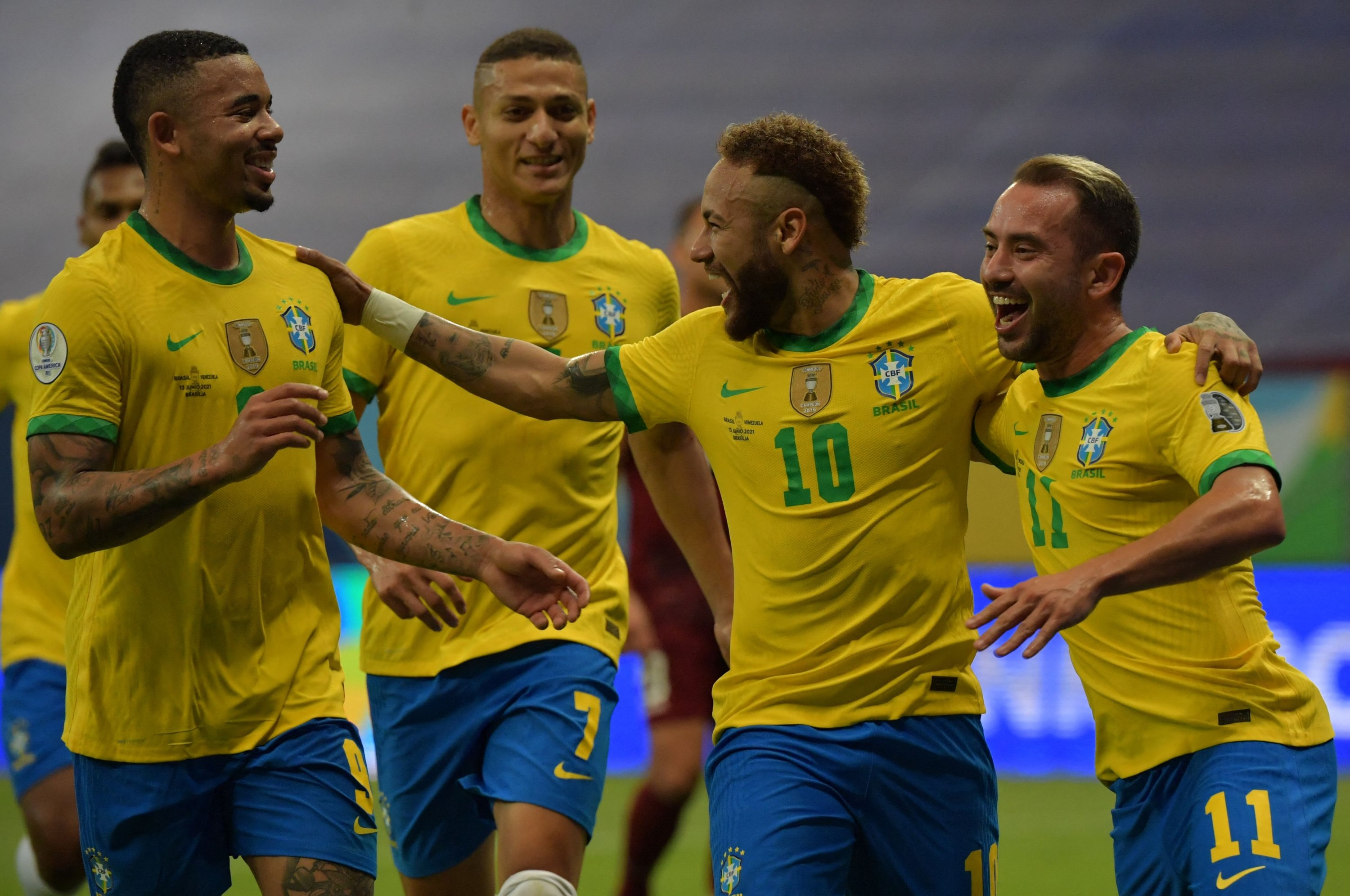 Brazil opens Copa America with win over COVID-depleted Venezuela   Daily Sabah
