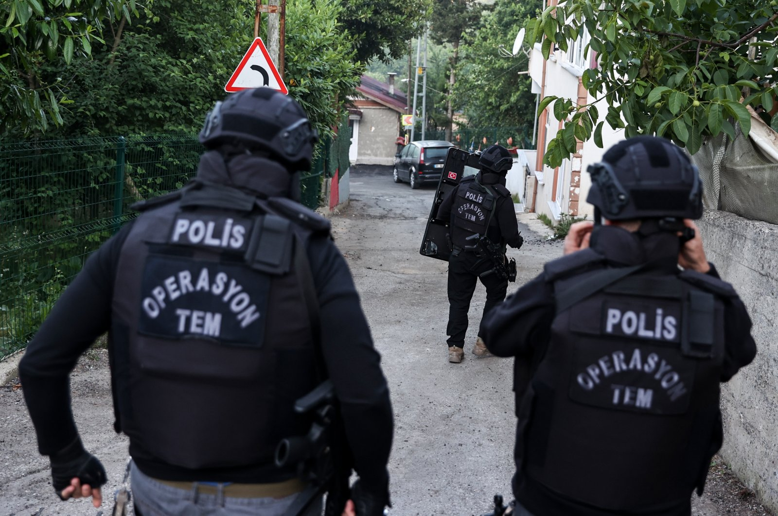 Counterterrorism squads carry out an operation in Istanbul, June 5, 2021. (AA File Photo)