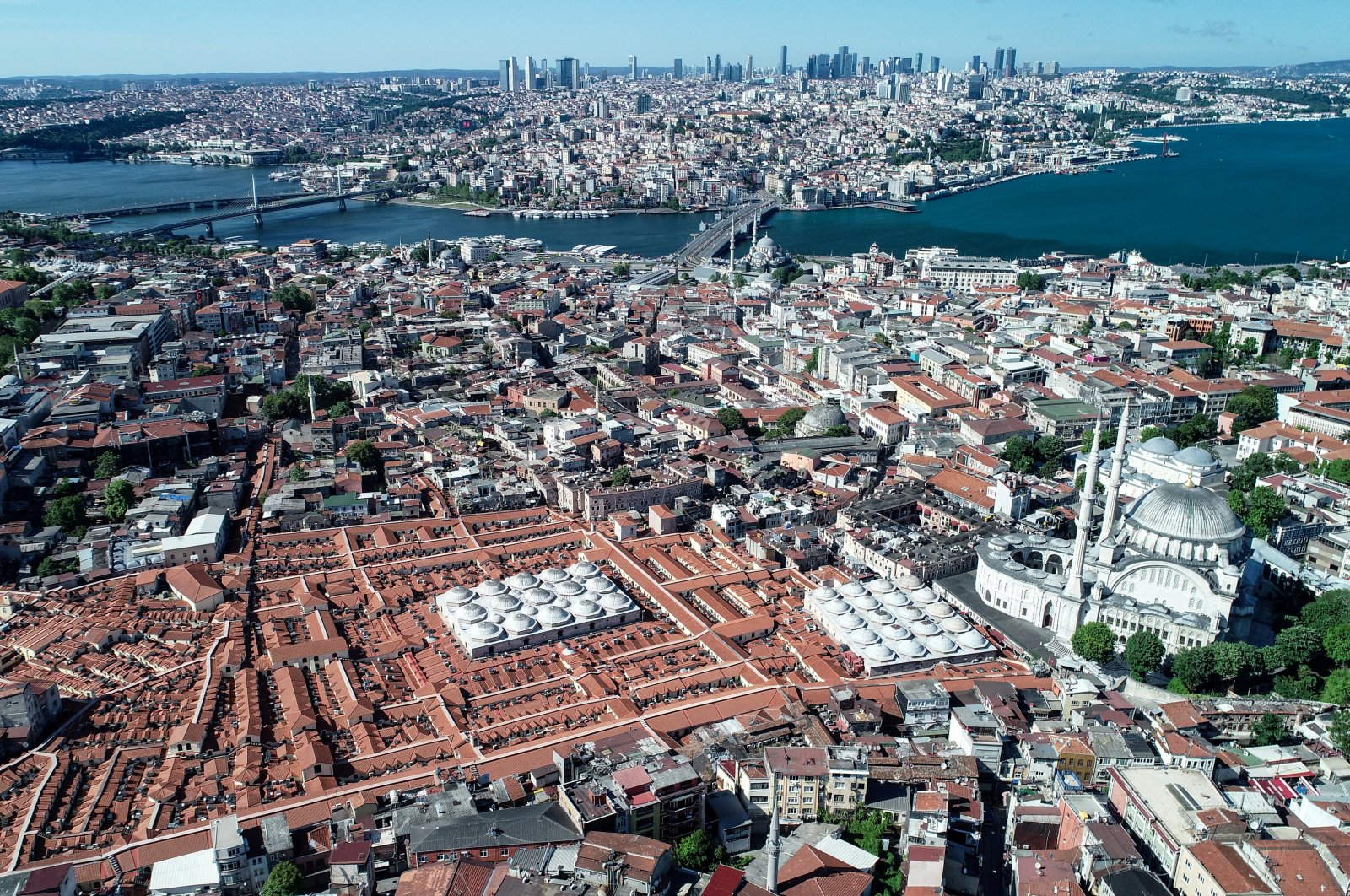 An aerial view of Istanbul, Turkey, May 26, 2020. (Reuters Photo)
