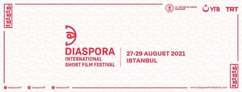 A poster of the Diaspora International Short Film Festival.
