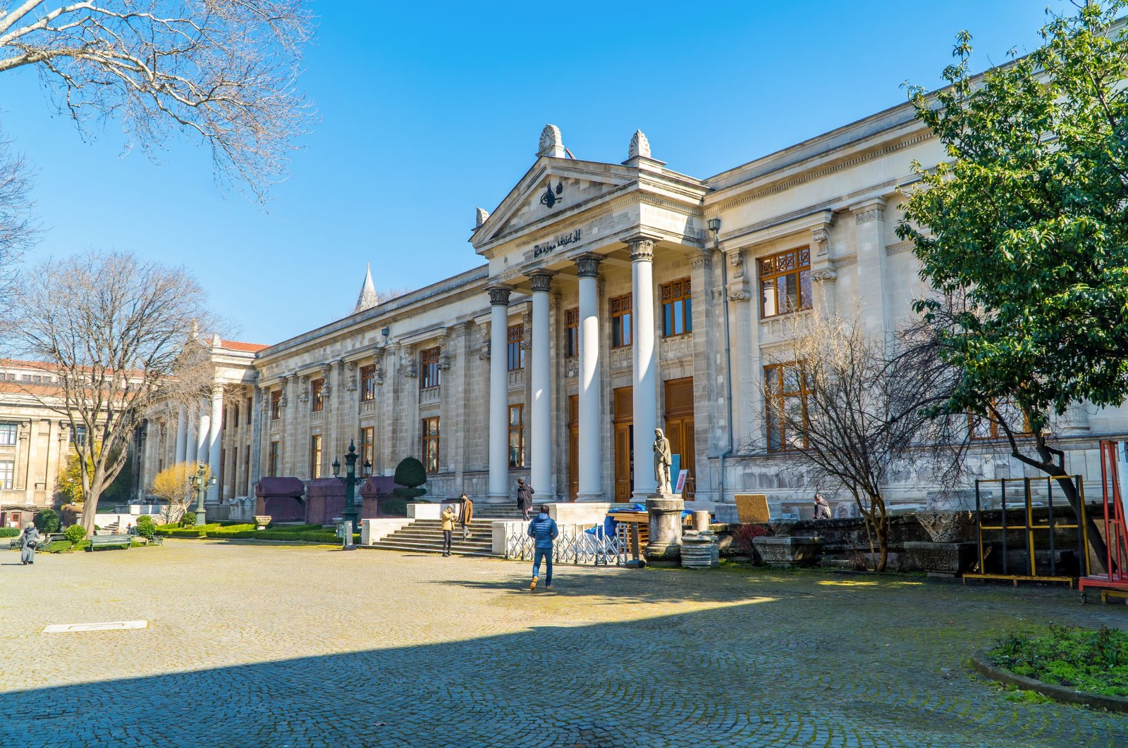 A street view of the Istanbul Archaeological Museum in Istanbul, Turkey, Feb. 23, 2021. (Shutterstock Photo)