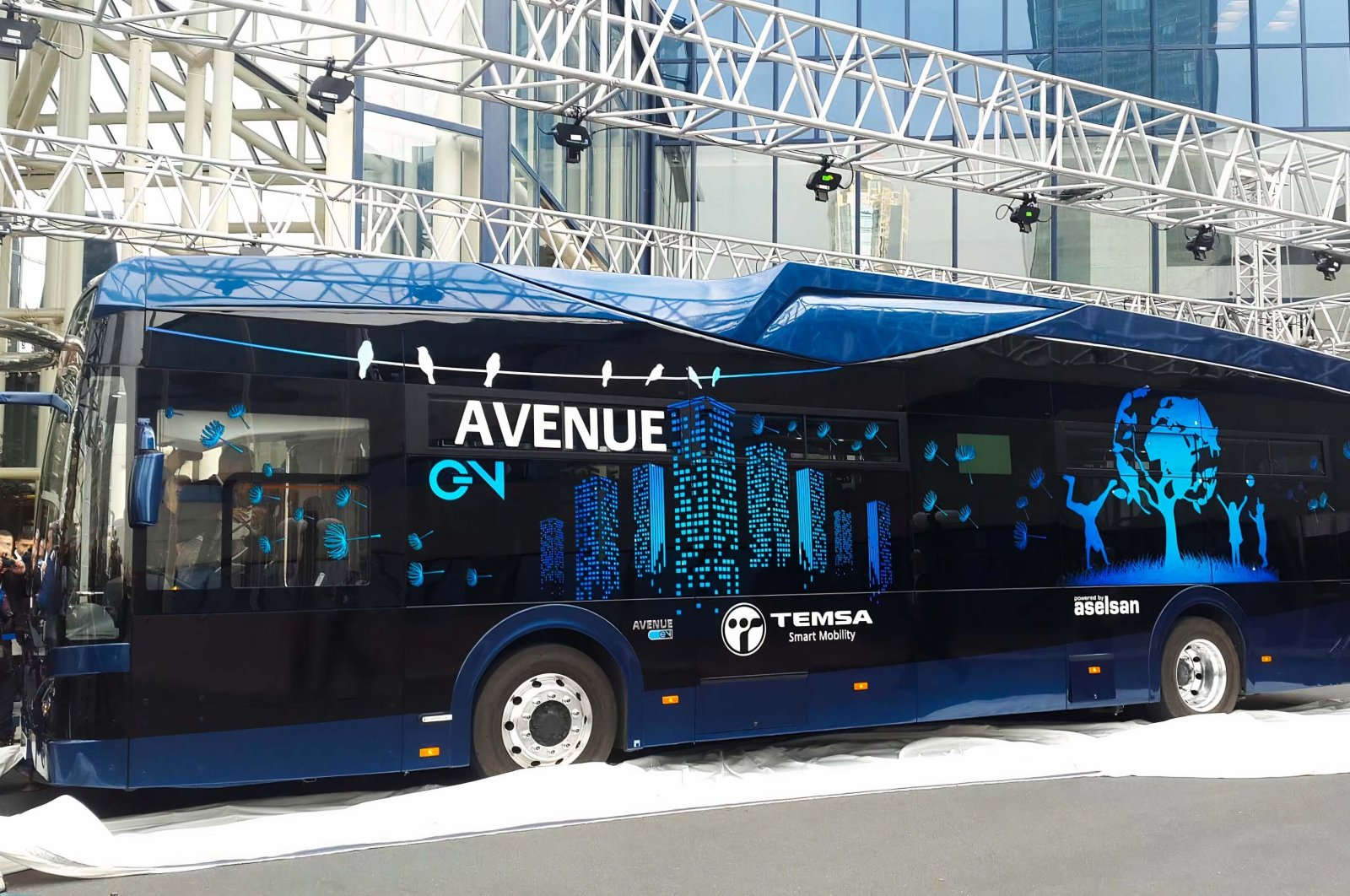 Avenue EV bus seen in this undated file photo. (EHA Photo)