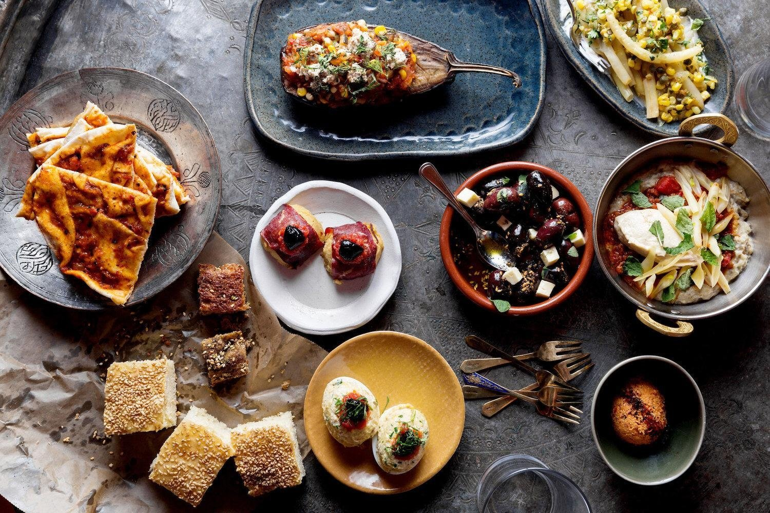 Oleana blends elements and ingredients, styles and palates shared between Turkey, the Levant and Greece. (Courtesy of Oleana)
