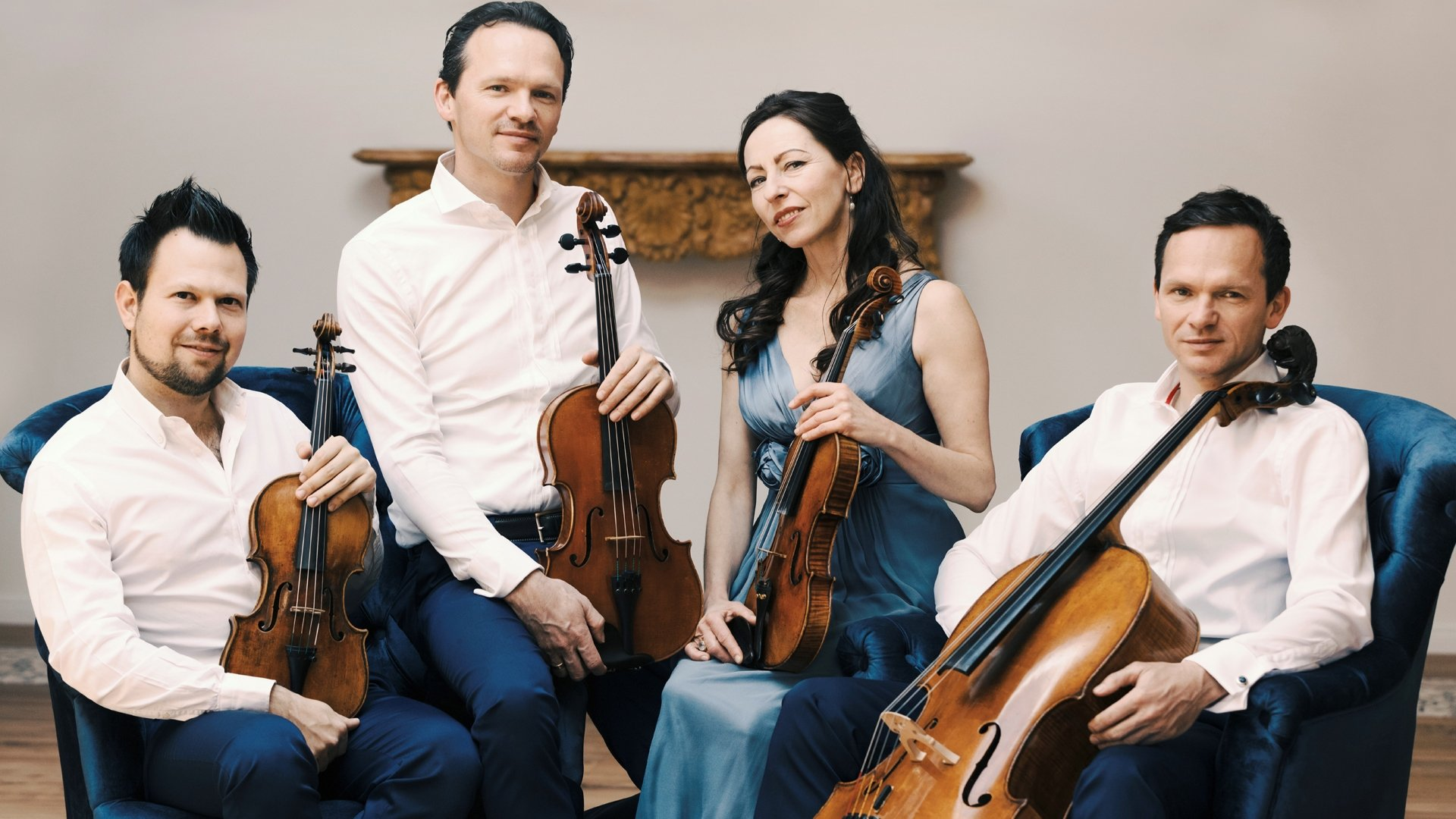 """CasalQuartett will accompany the famous Turkish pianist Fazıl Say in the """"Voice Nature"""" concert as part of the Istanbul Music Festival.  (Courtesy of IKSV)"""
