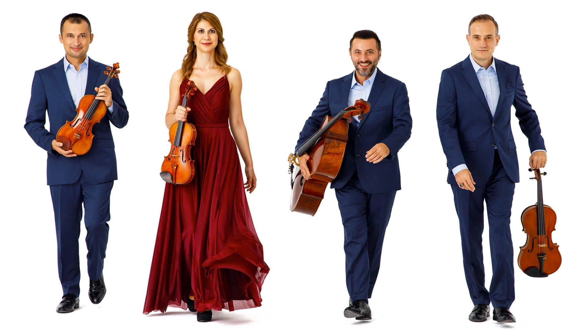 Borusan Quartet will share the stage with clarinetist Paul Meyer during the first concert of the festival's BIPO Focus series.  (Courtesy of IKSV)