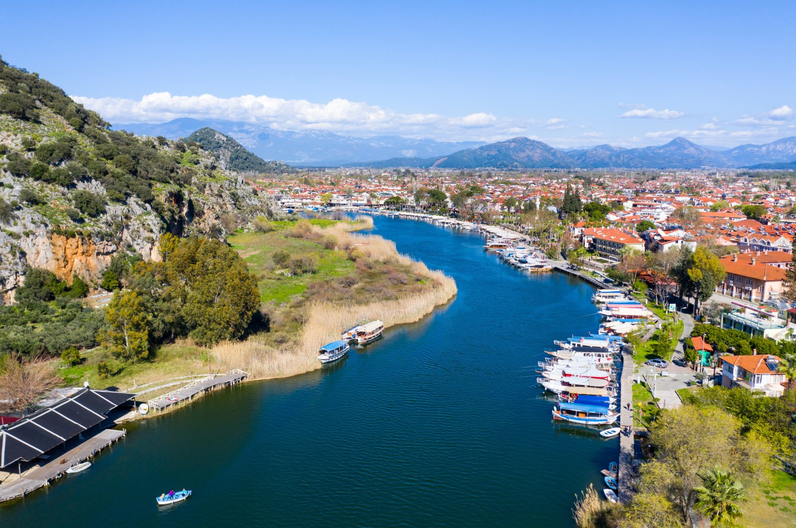 Dalyan is a popular tourist destination in Turkey. (Shutterstock Photo)