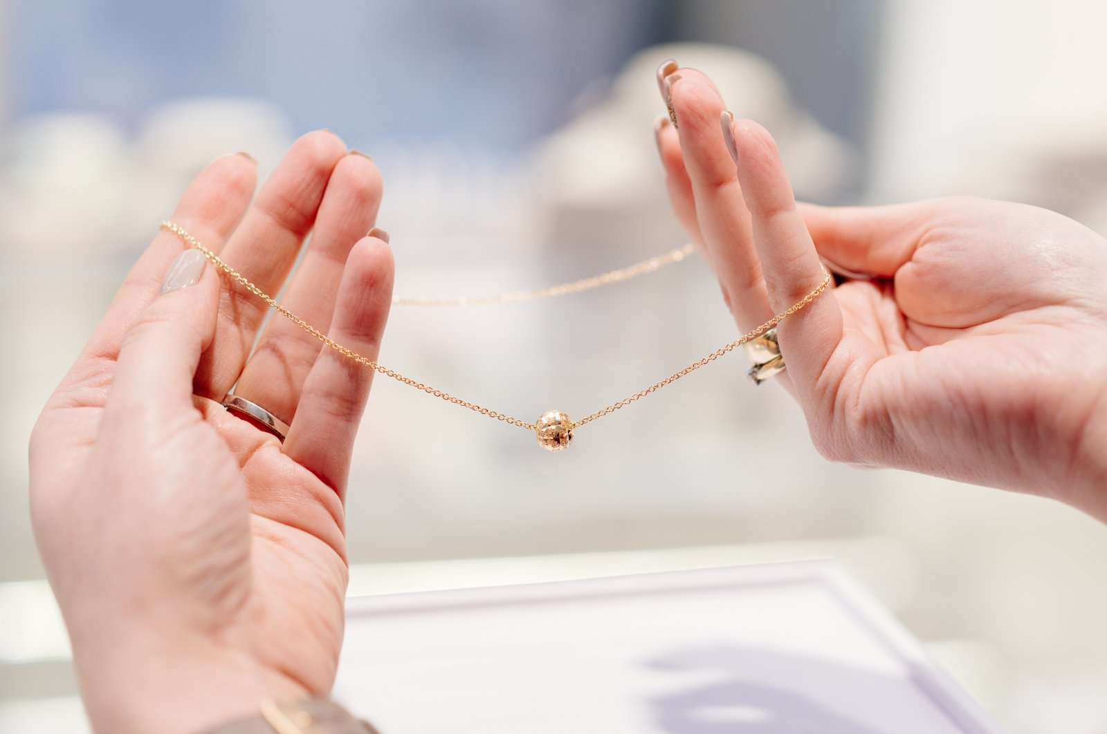 Sunshine, perfume and other things you need to protect jewelry from. (Shutterstock Photo)