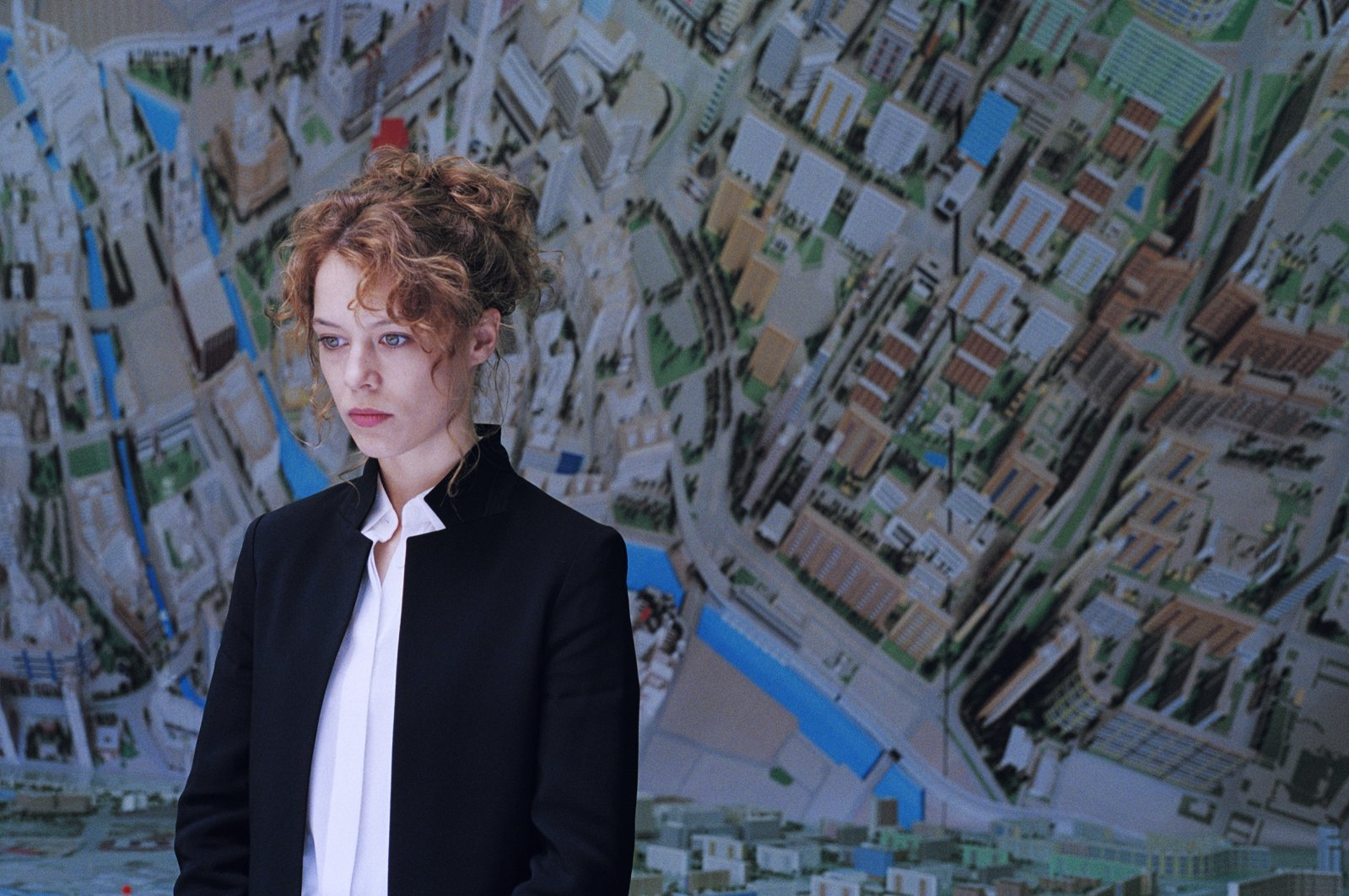 Undine is an art historian in a city museum lecturing on Berlin's urban development in Christian Petzold's movie. (Courtesy of Istanbul Modern)