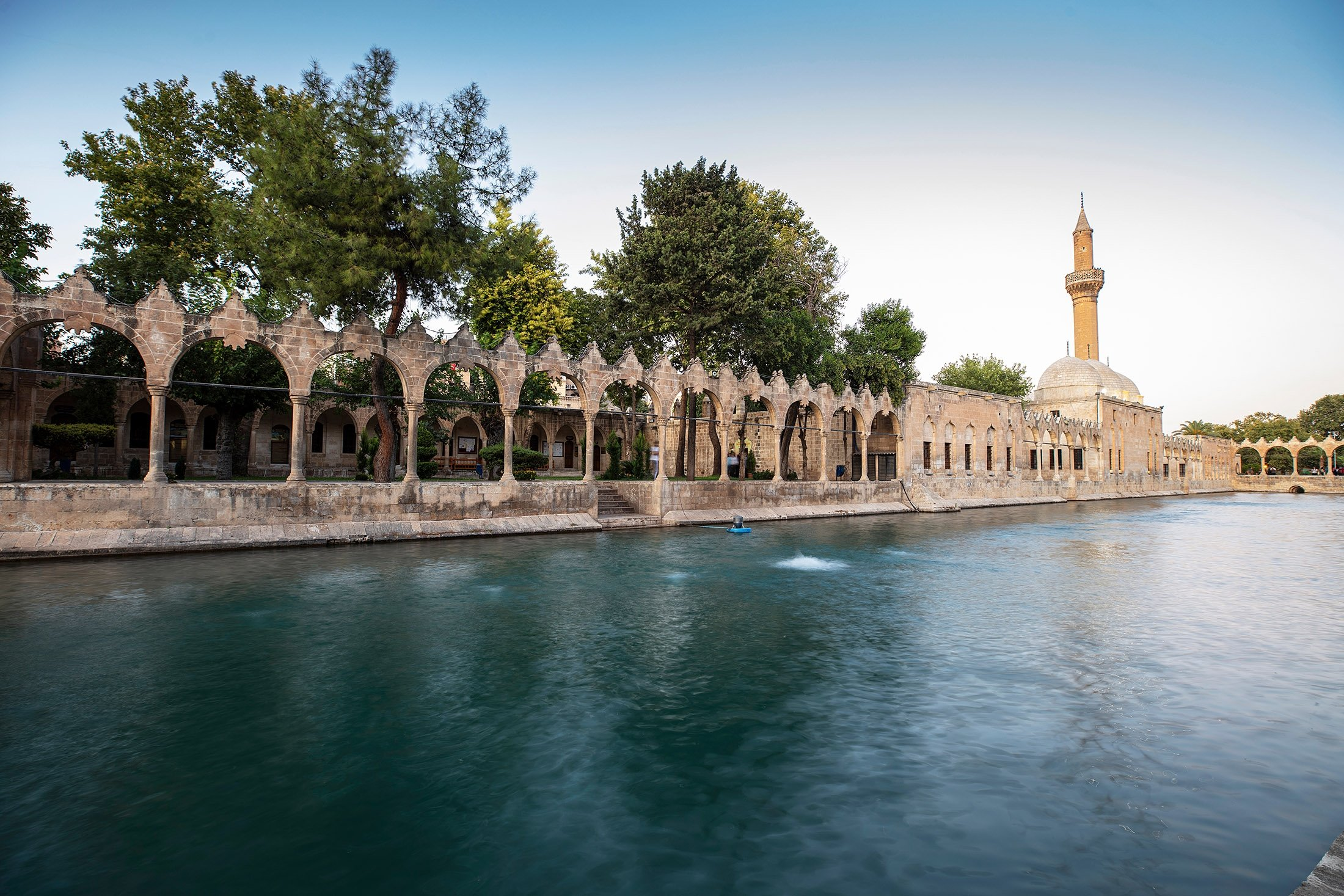 A view of Balıklıgöl (Fish Lake), Şanlıurfa, Turkey. (Shutterstock Photo)