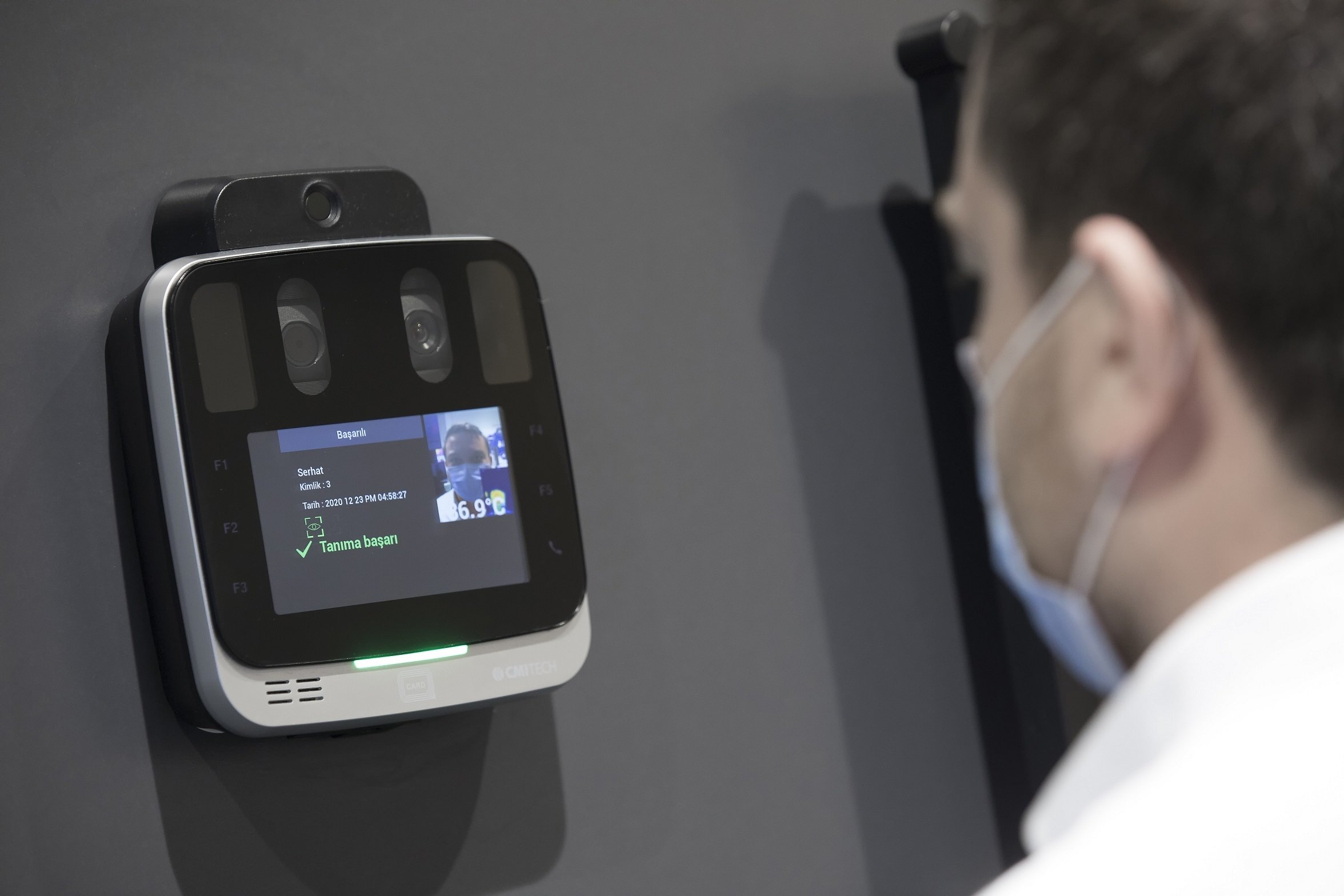 The coronavirus pandemic has spurred the interest in contactless security and density measuring technologies.